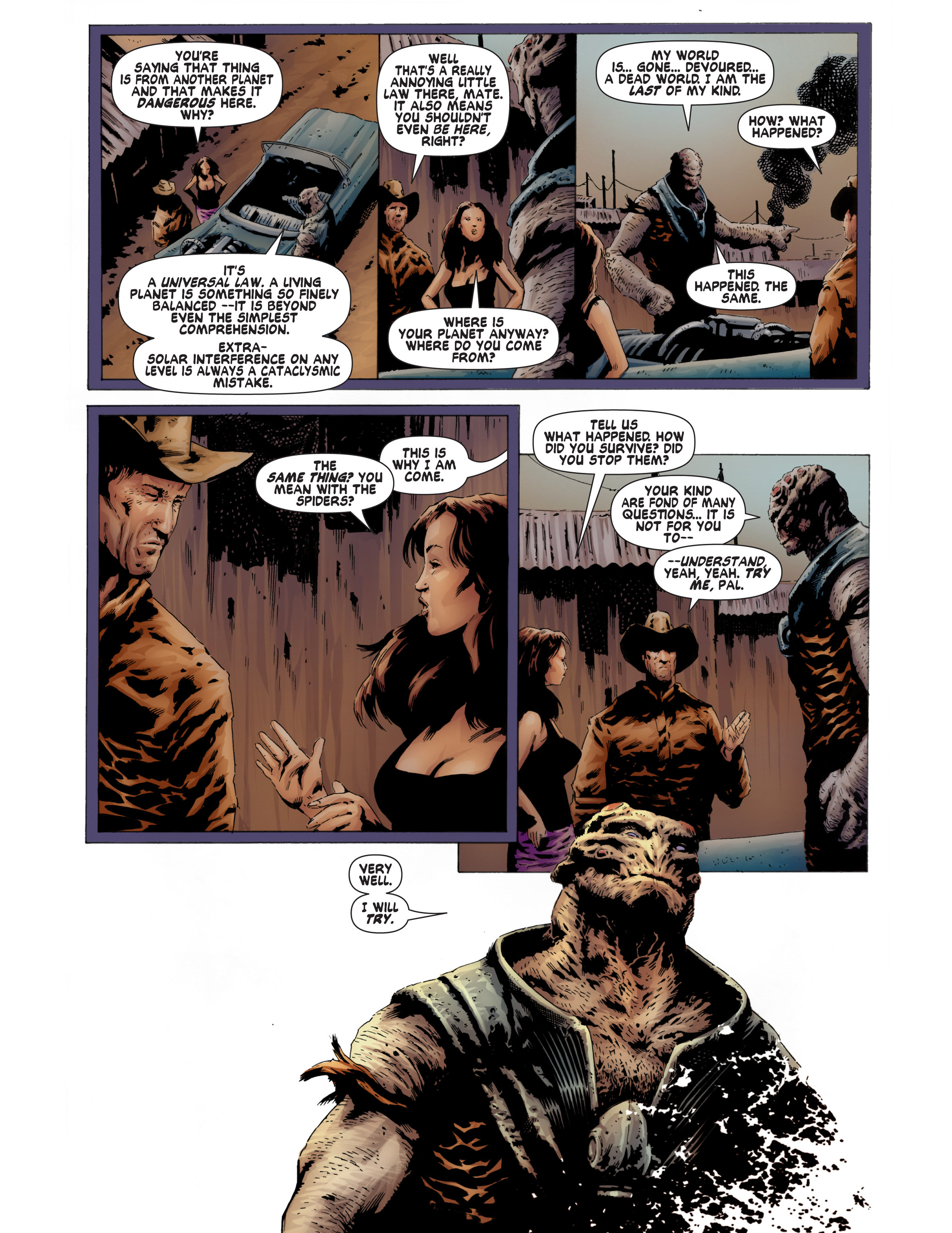 Read online Bad Planet comic -  Issue # TPB - 94