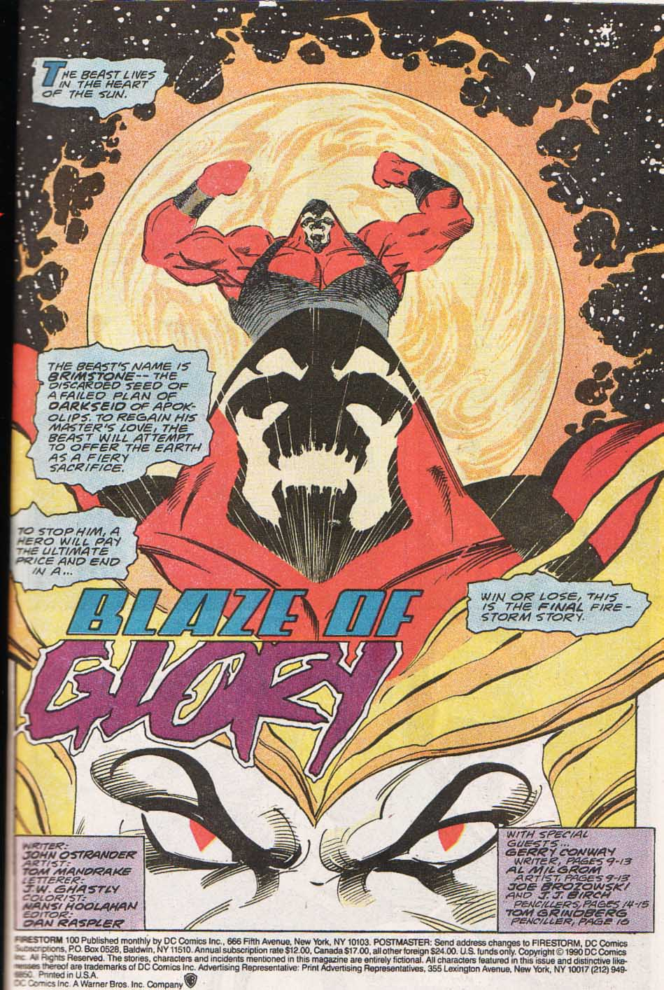 Firestorm, the Nuclear Man Issue #100 #36 - English 2