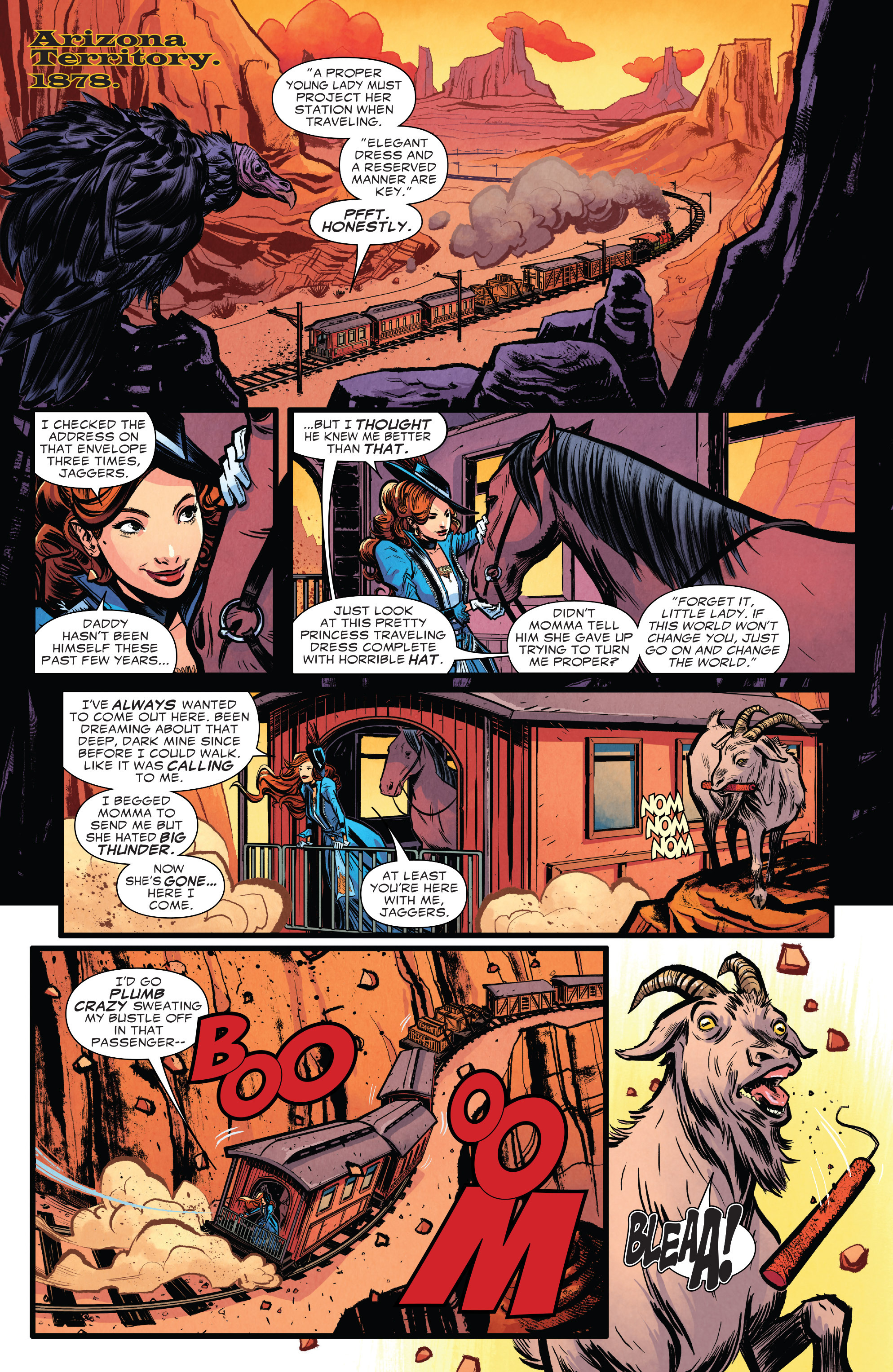 Read online Big Thunder Mountain Railroad comic -  Issue #1 - 6