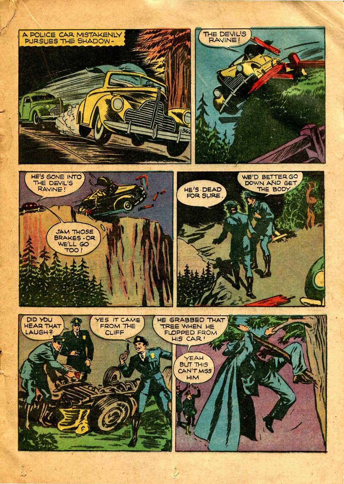 Read online Shadow Comics comic -  Issue #9 - 31