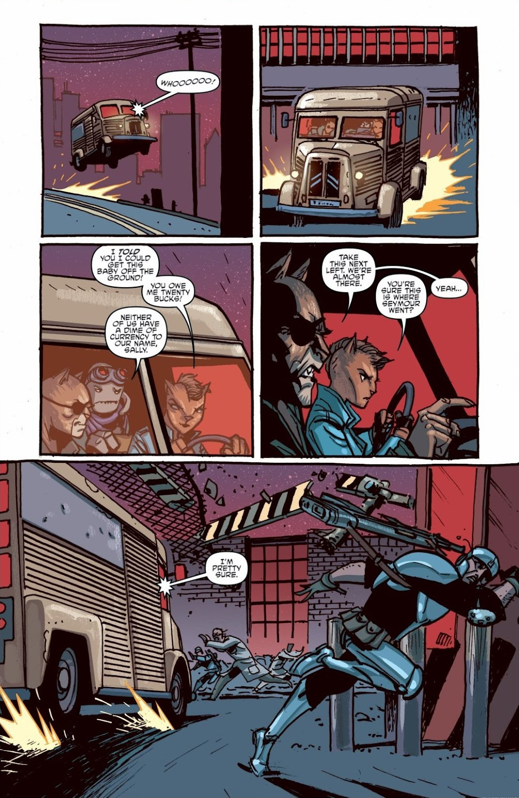 Read online Teenage Mutant Ninja Turtles: The IDW Collection comic -  Issue # TPB 6 (Part 1) - 78