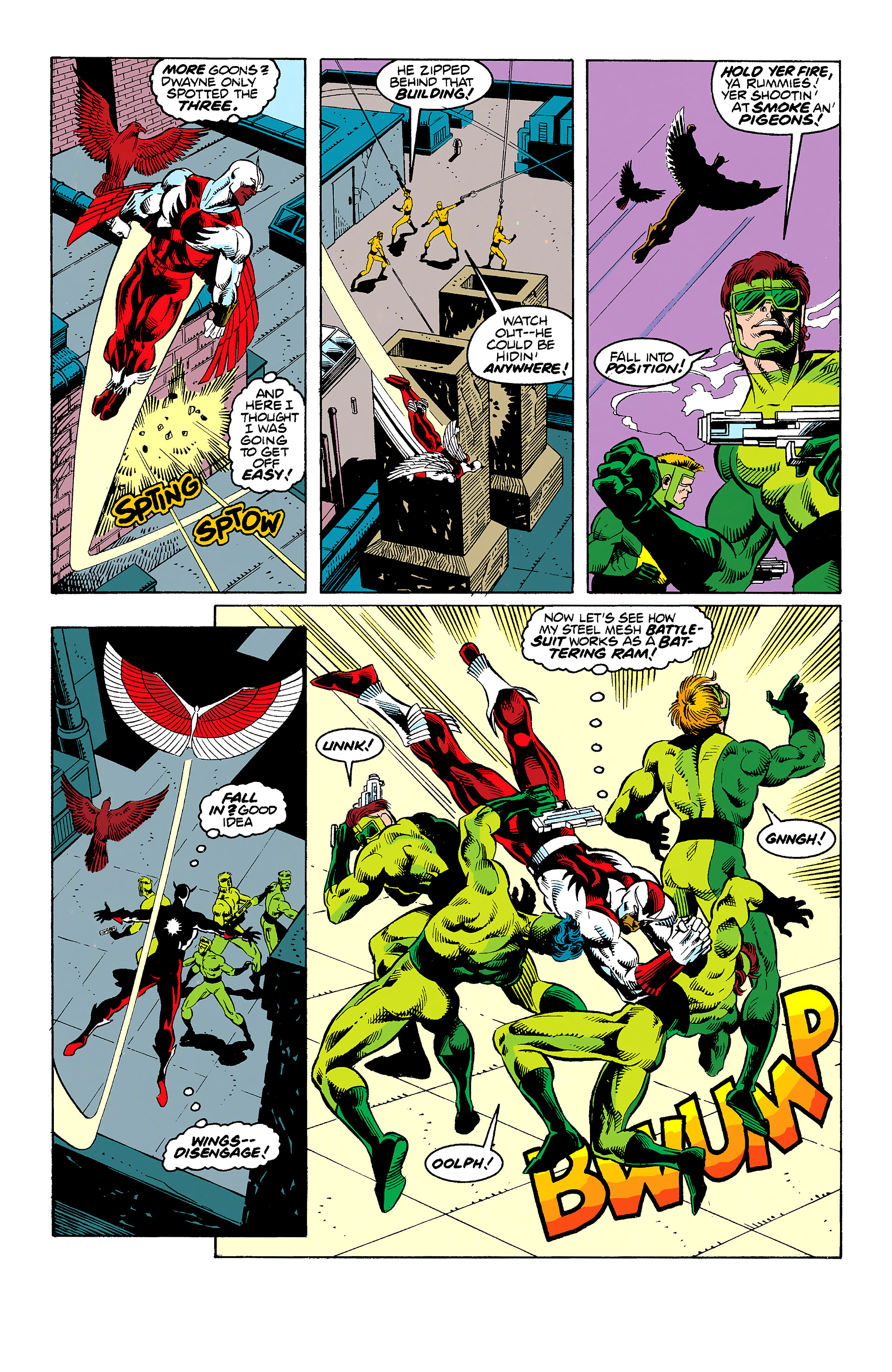 Read online Captain America (1968) comic -  Issue # _Annual 11 - 39