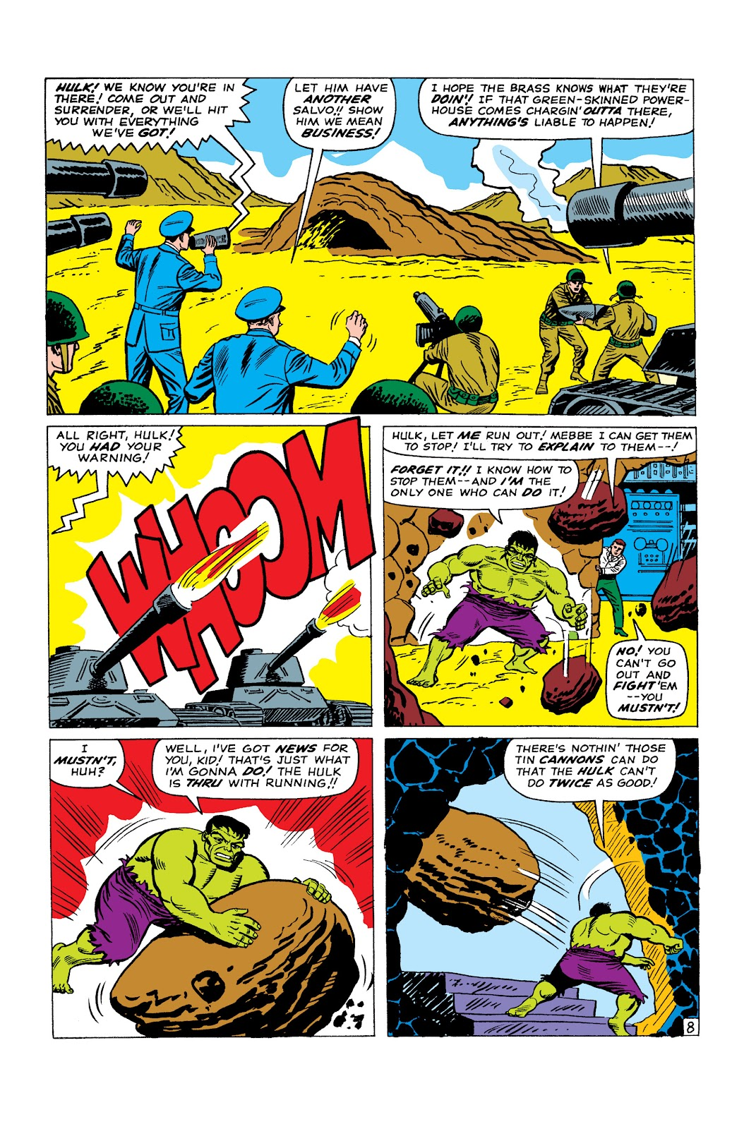 Read online Marvel Masterworks: The Incredible Hulk comic -  Issue # TPB 2 (Part 2) - 53