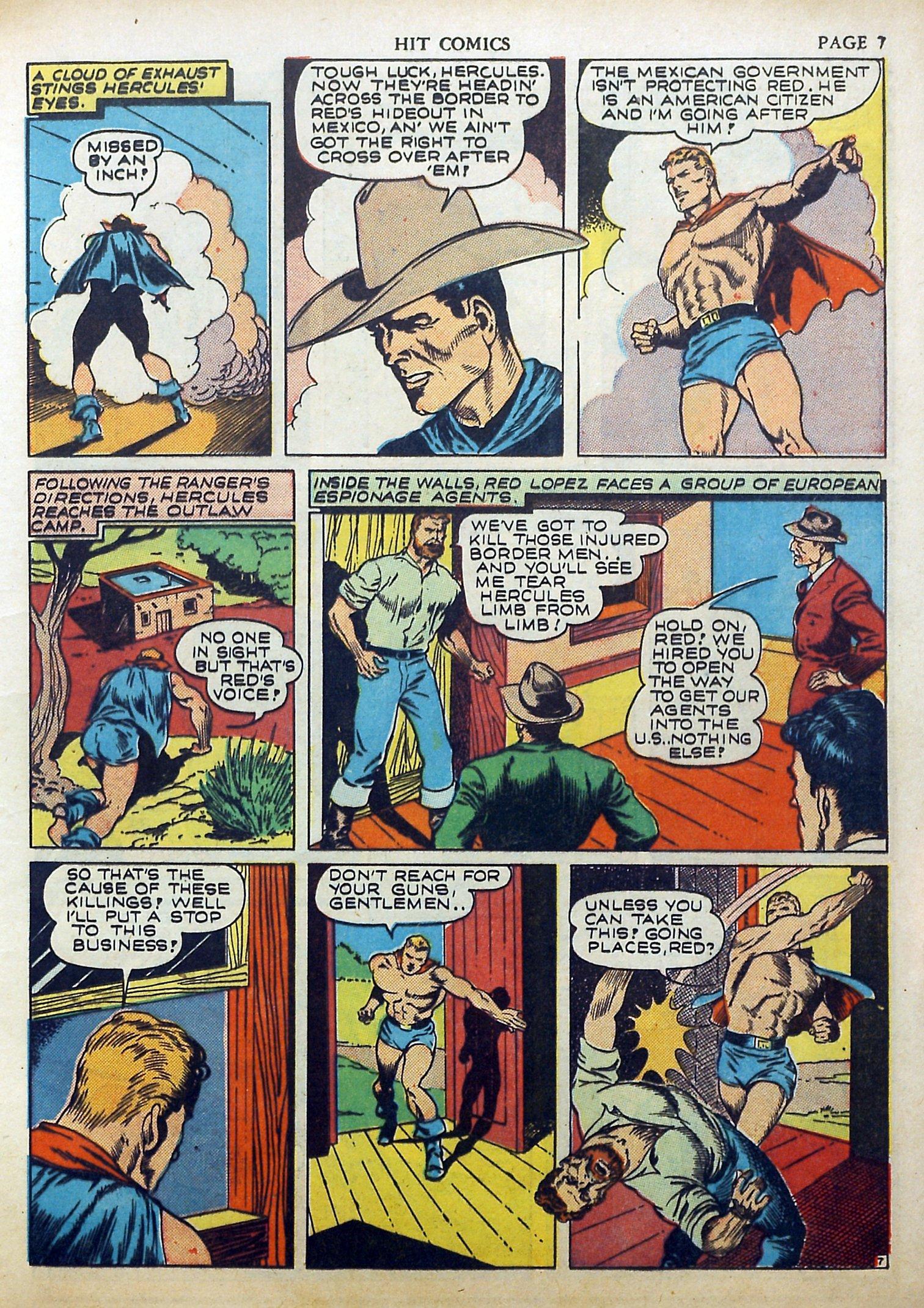 Read online Hit Comics comic -  Issue #17 - 9