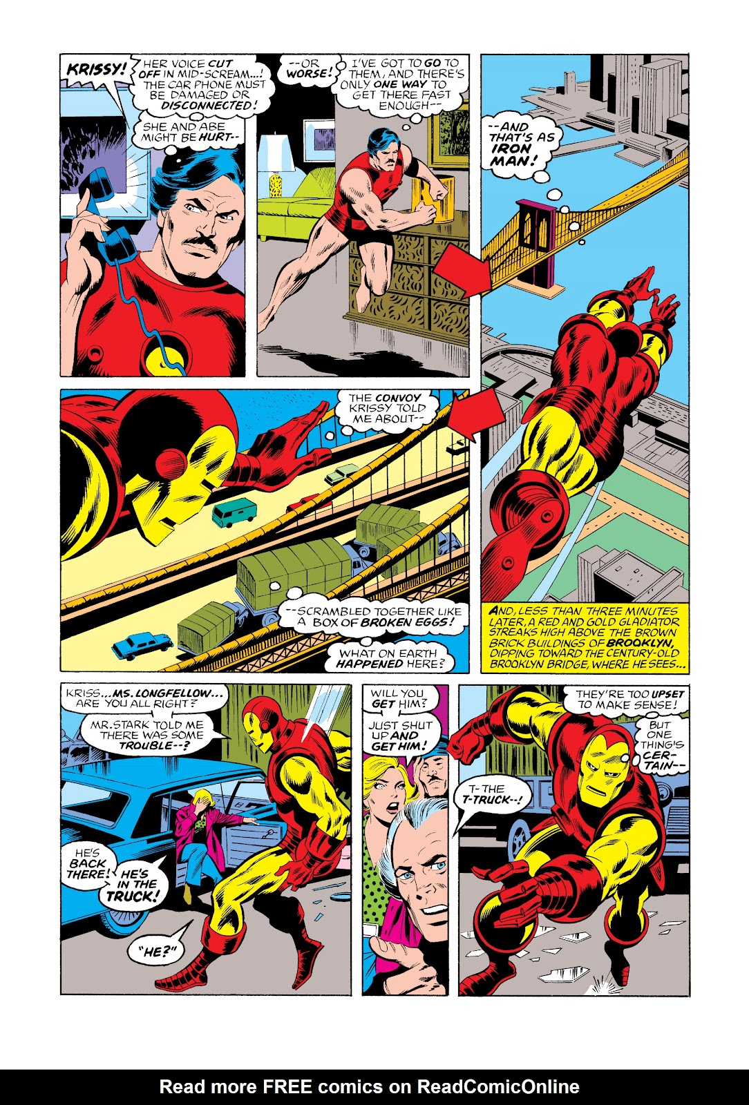 Read online Marvel Masterworks: The Invincible Iron Man comic -  Issue # TPB 11 (Part 3) - 35