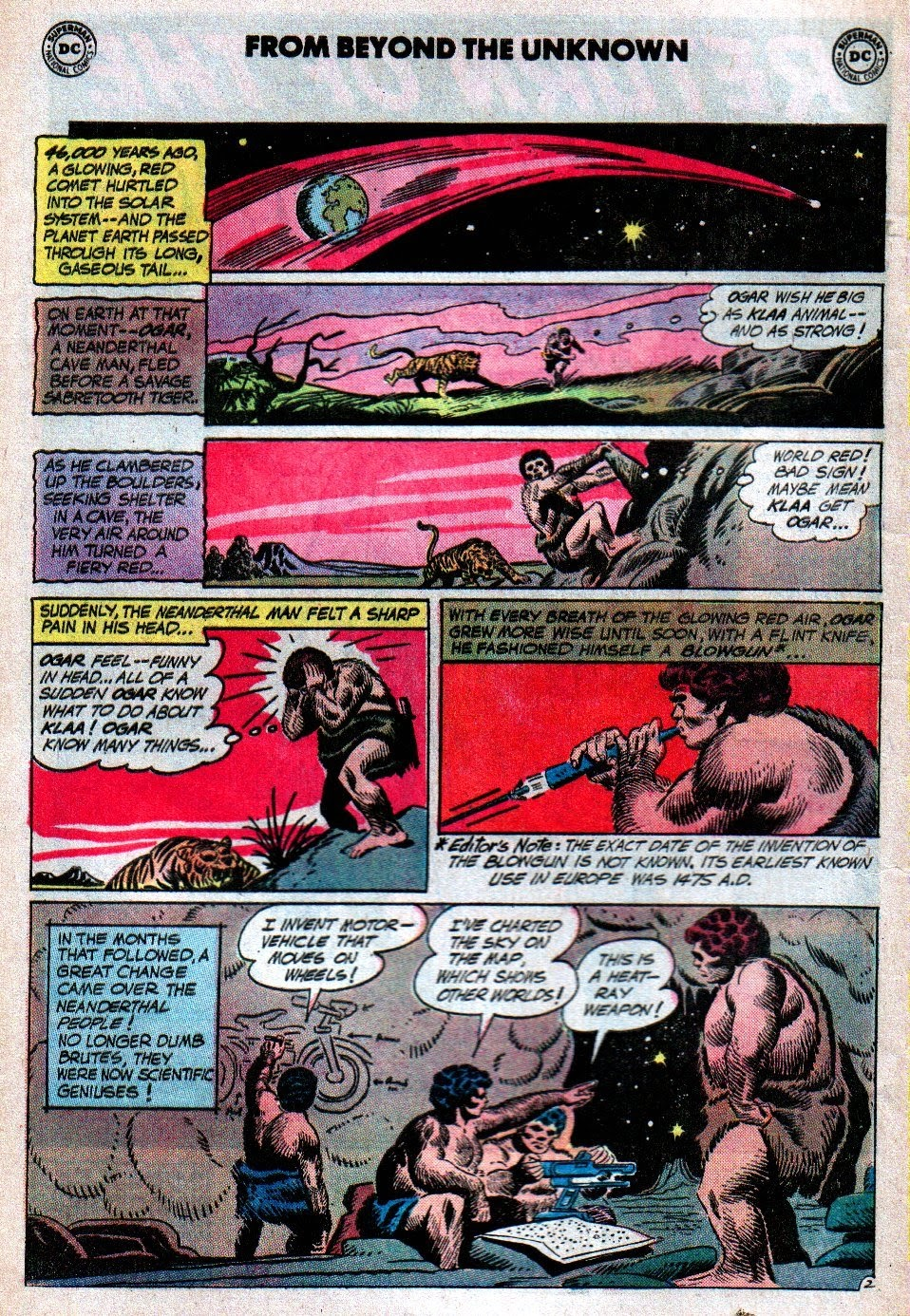 From Beyond the Unknown (1969) issue 19 - Page 4