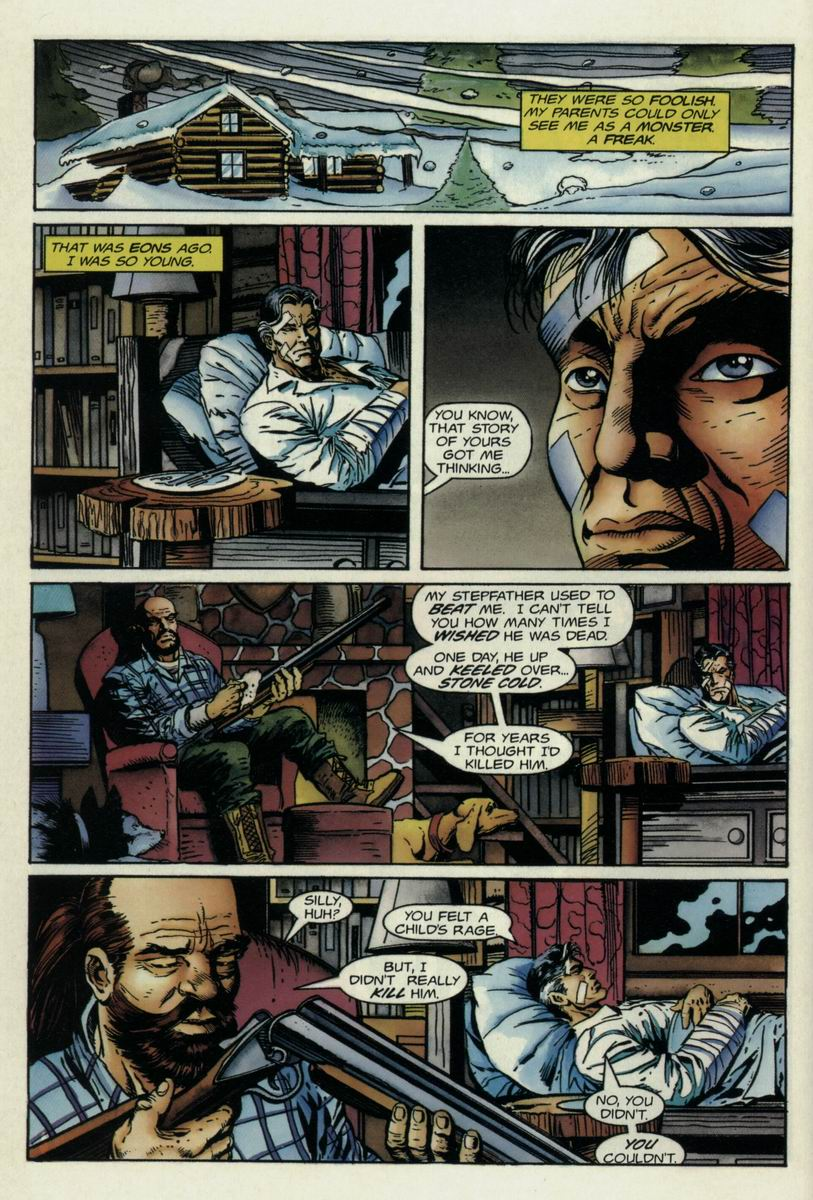 Read online Harbinger Files comic -  Issue #1 - 11