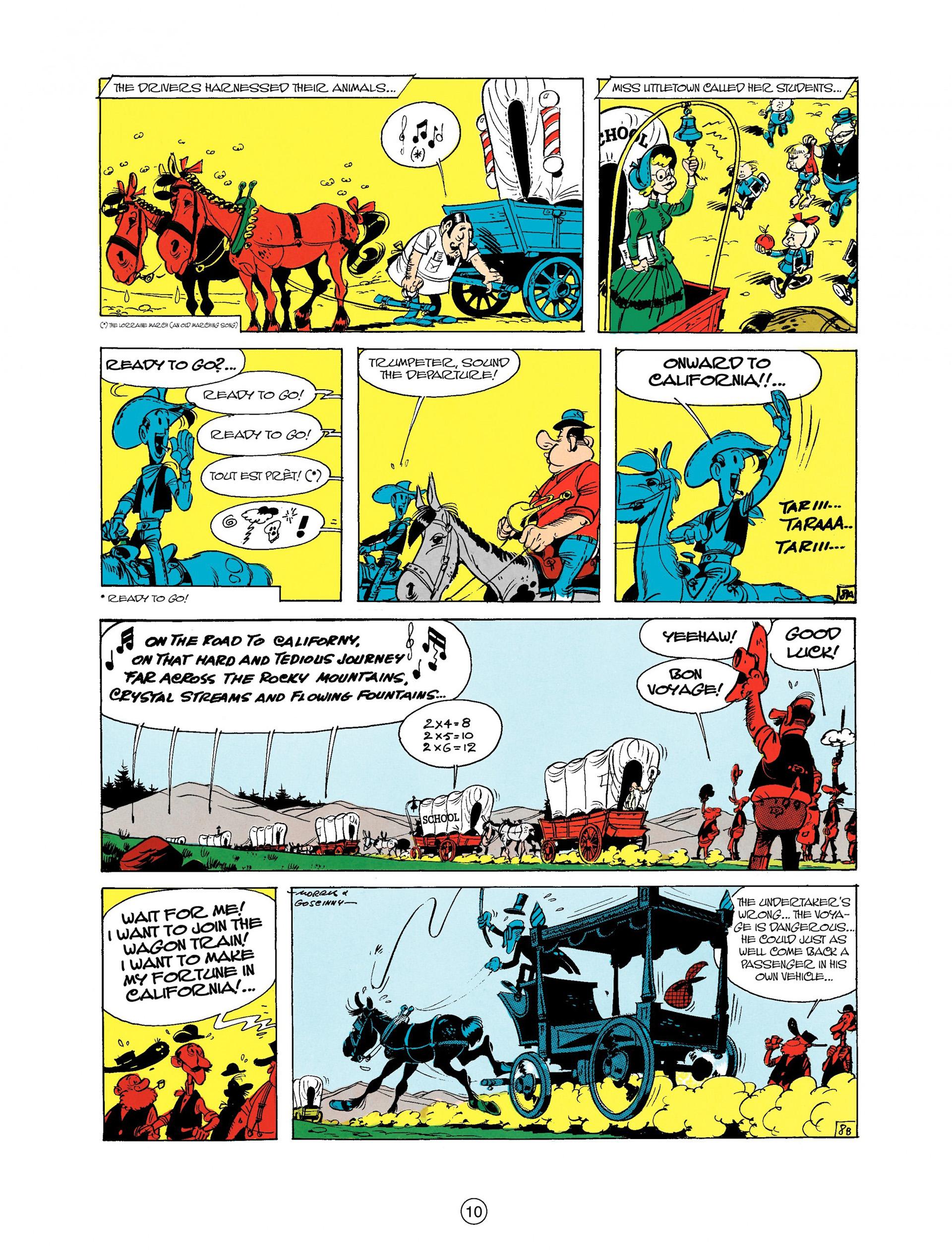 Read online A Lucky Luke Adventure comic -  Issue #9 - 10