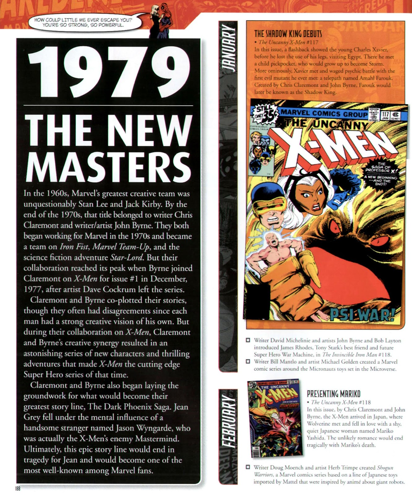 Read online Marvel Chronicle comic -  Issue # TPB (Part 2) - 77