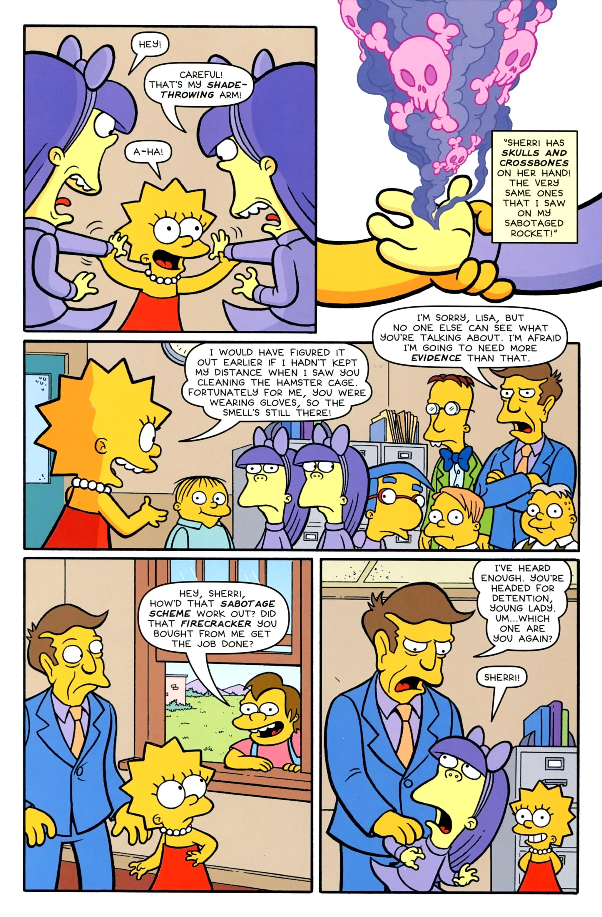 Read online Simpsons Comics comic -  Issue #231 - 25