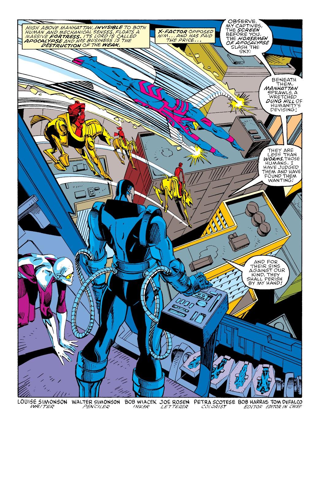 Read online X-Men Milestones: Fall of the Mutants comic -  Issue # TPB (Part 3) - 5