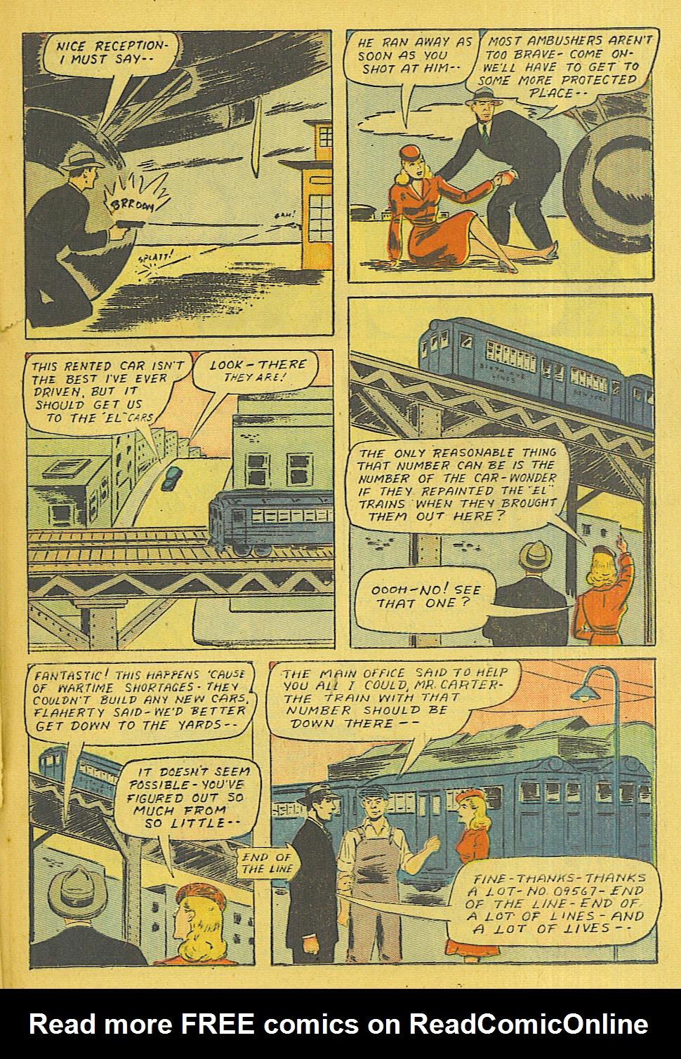 Read online Shadow Comics comic -  Issue #71 - 22
