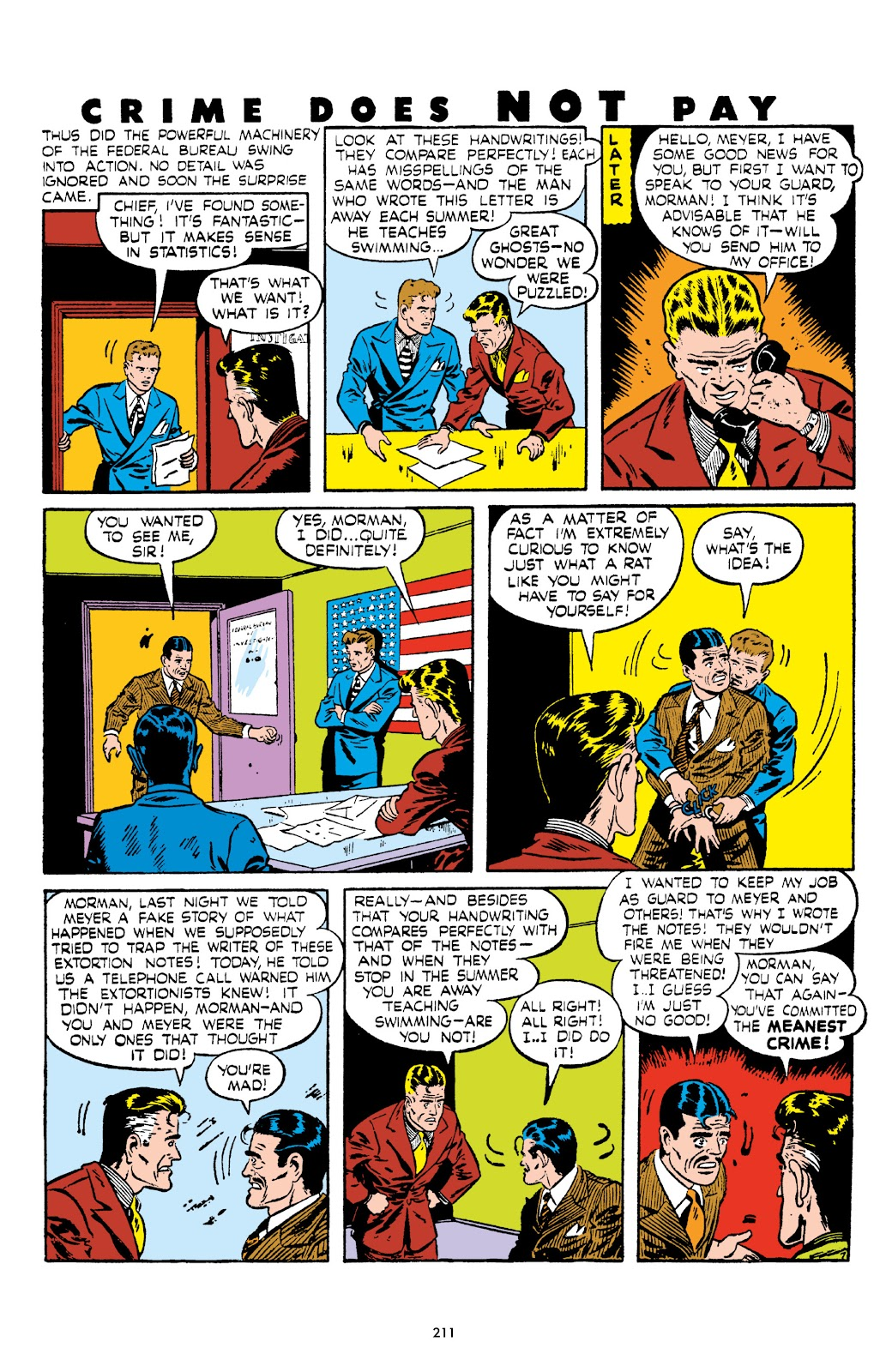 Read online Crime Does Not Pay Archives comic -  Issue # TPB 5 (Part 3) - 11