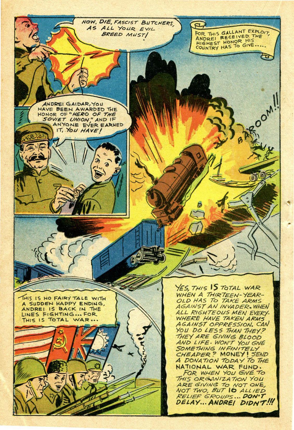 Read online Shadow Comics comic -  Issue #44 - 37
