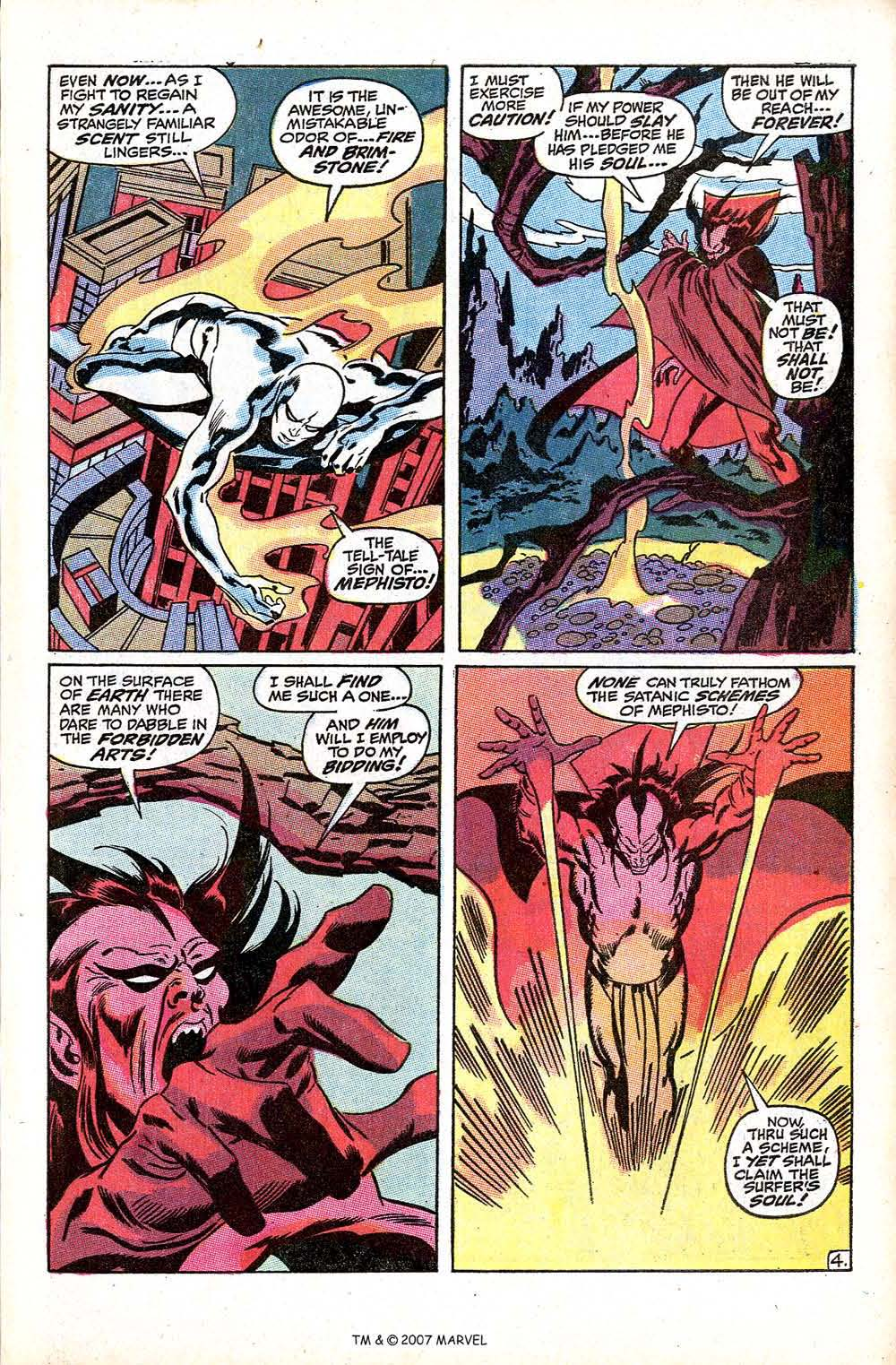 Read online Silver Surfer (1968) comic -  Issue #8 - 7