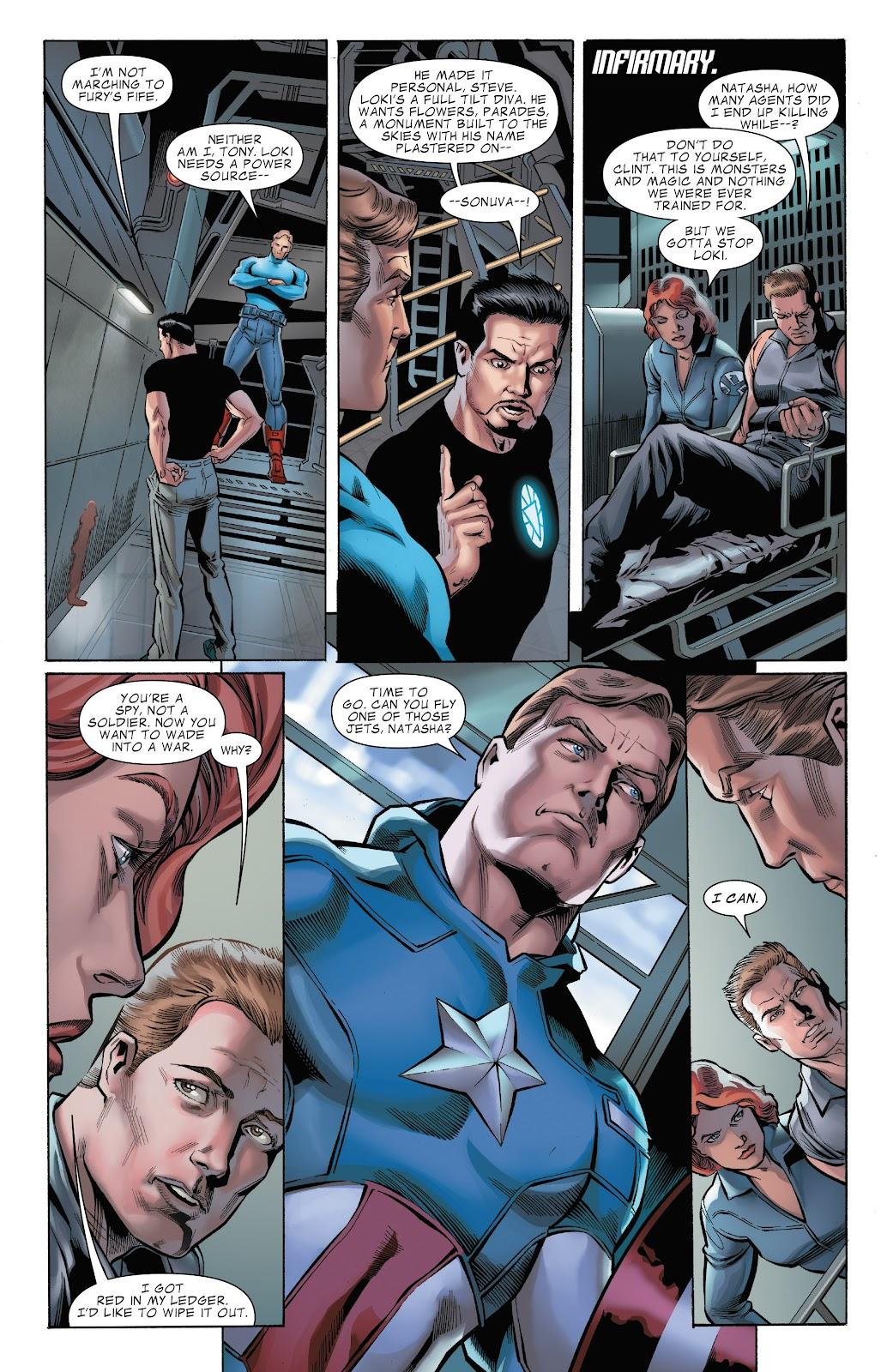 Read online Marvel's The Avengers comic -  Issue #2 - 7