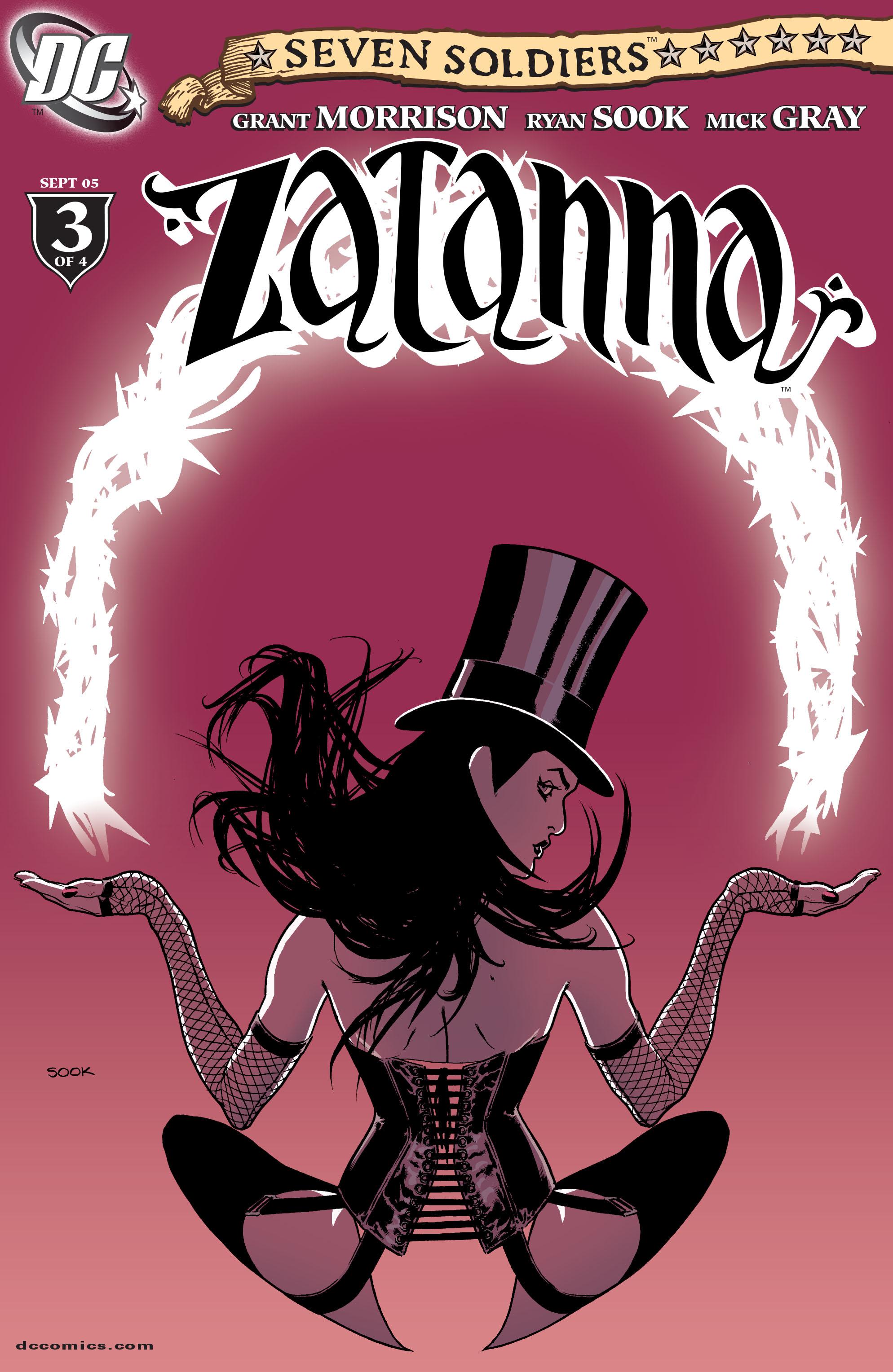 Read online Seven Soldiers: Zatanna comic -  Issue #3 - 1
