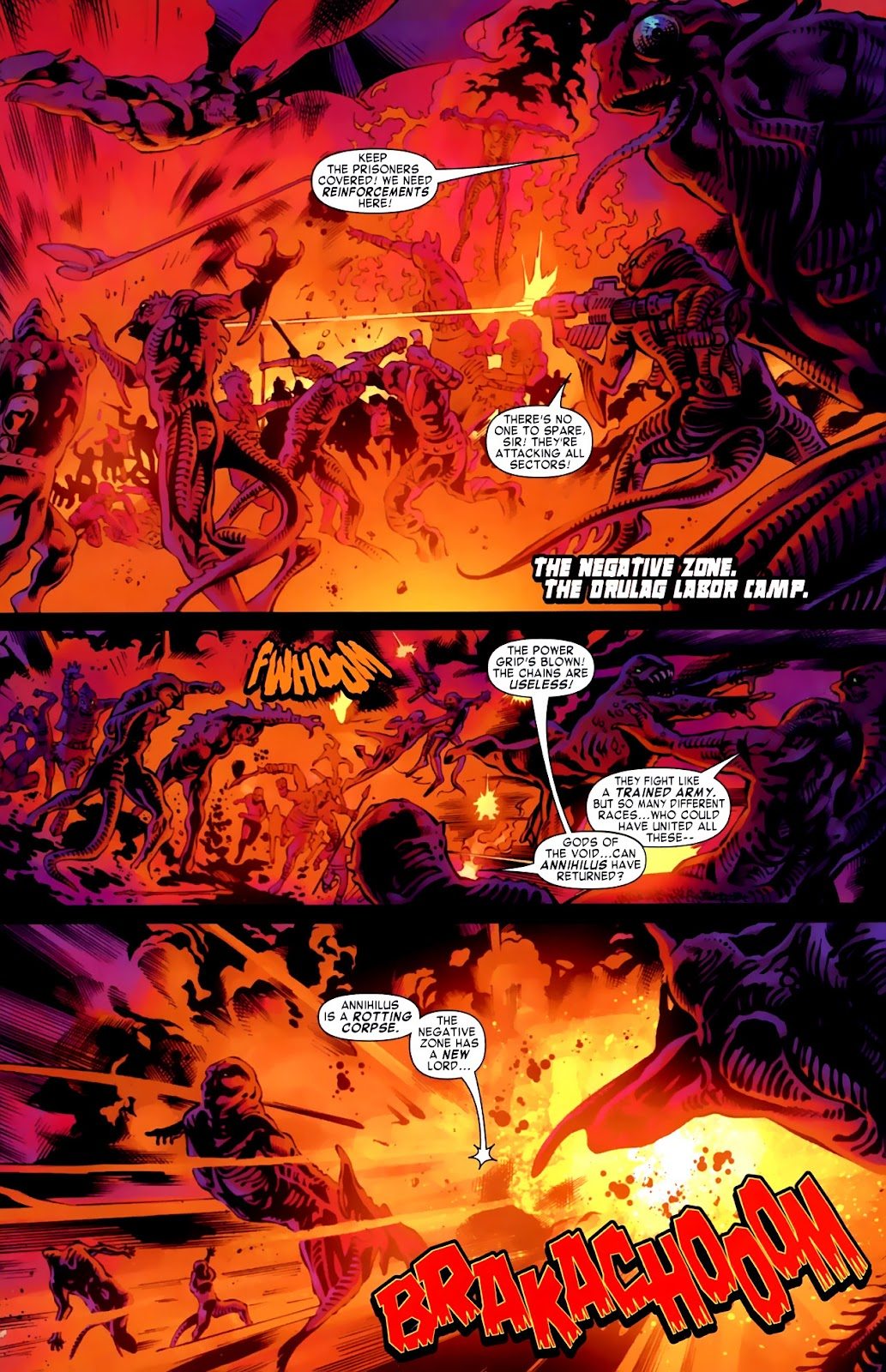 War of Kings: Warriors Issue #1 #1 - English 19