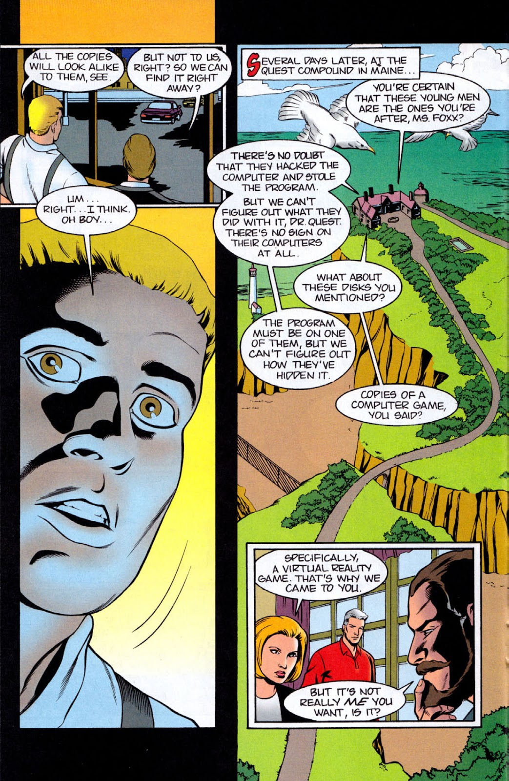 Read online The Real Adventures of Jonny Quest comic -  Issue #8 - 14