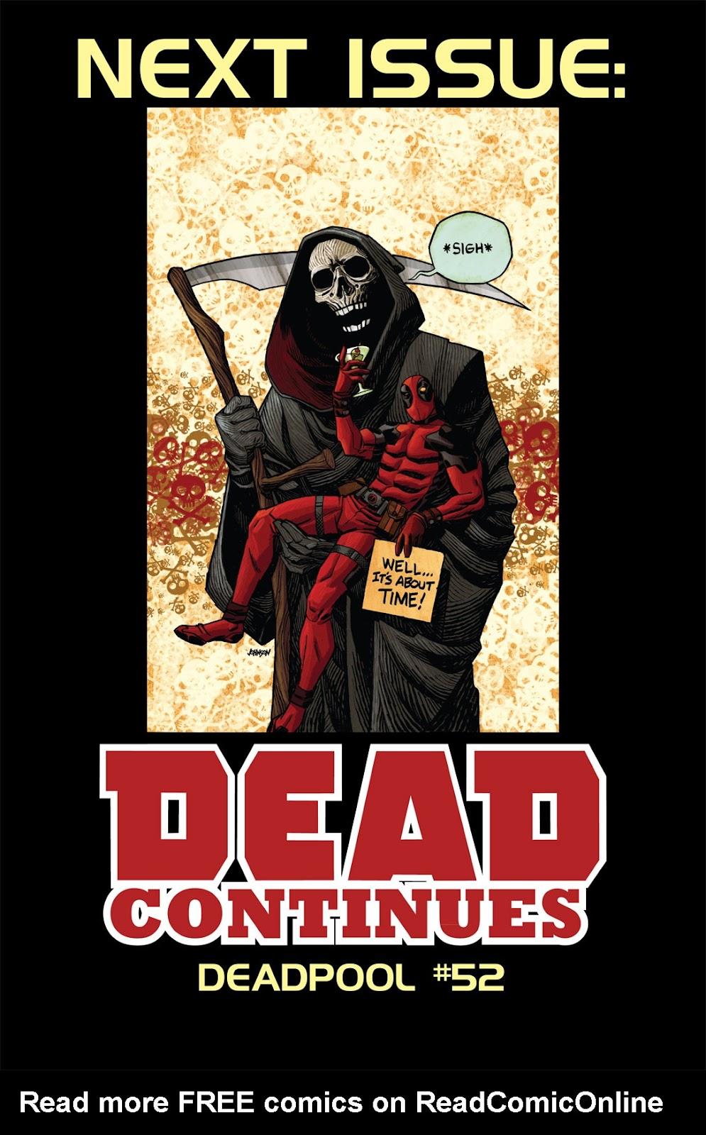 Read online Deadpool (2008) comic -  Issue #51 - 23