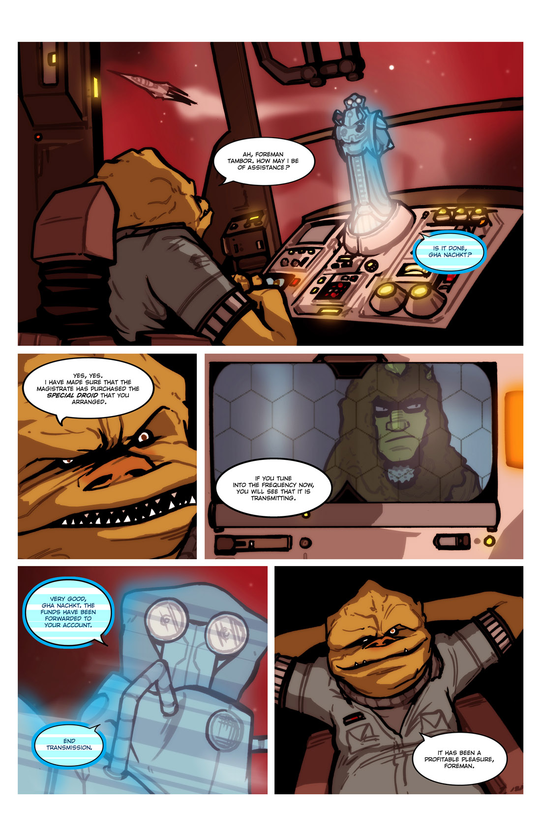 Read online Star Wars: Tales From The Clone Wars comic -  Issue # TPB - 52