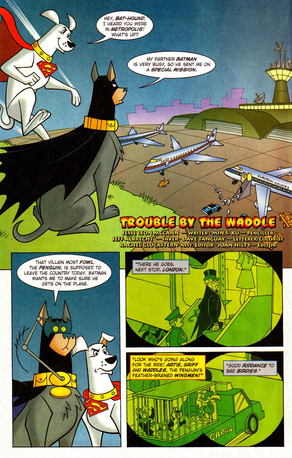 Read online Krypto the Superdog comic -  Issue #3 - 12
