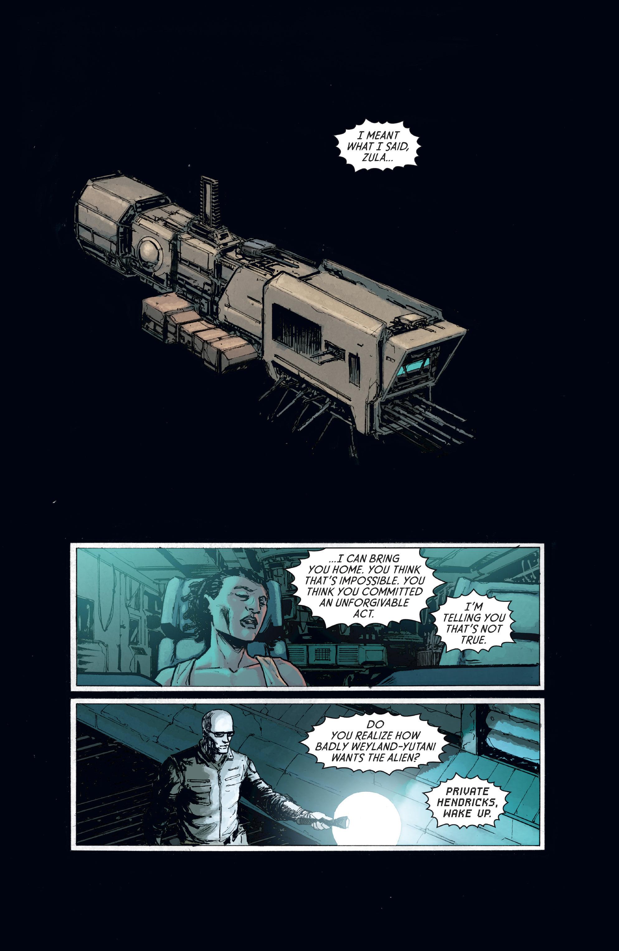 Read online Aliens: Defiance comic -  Issue #8 - 3