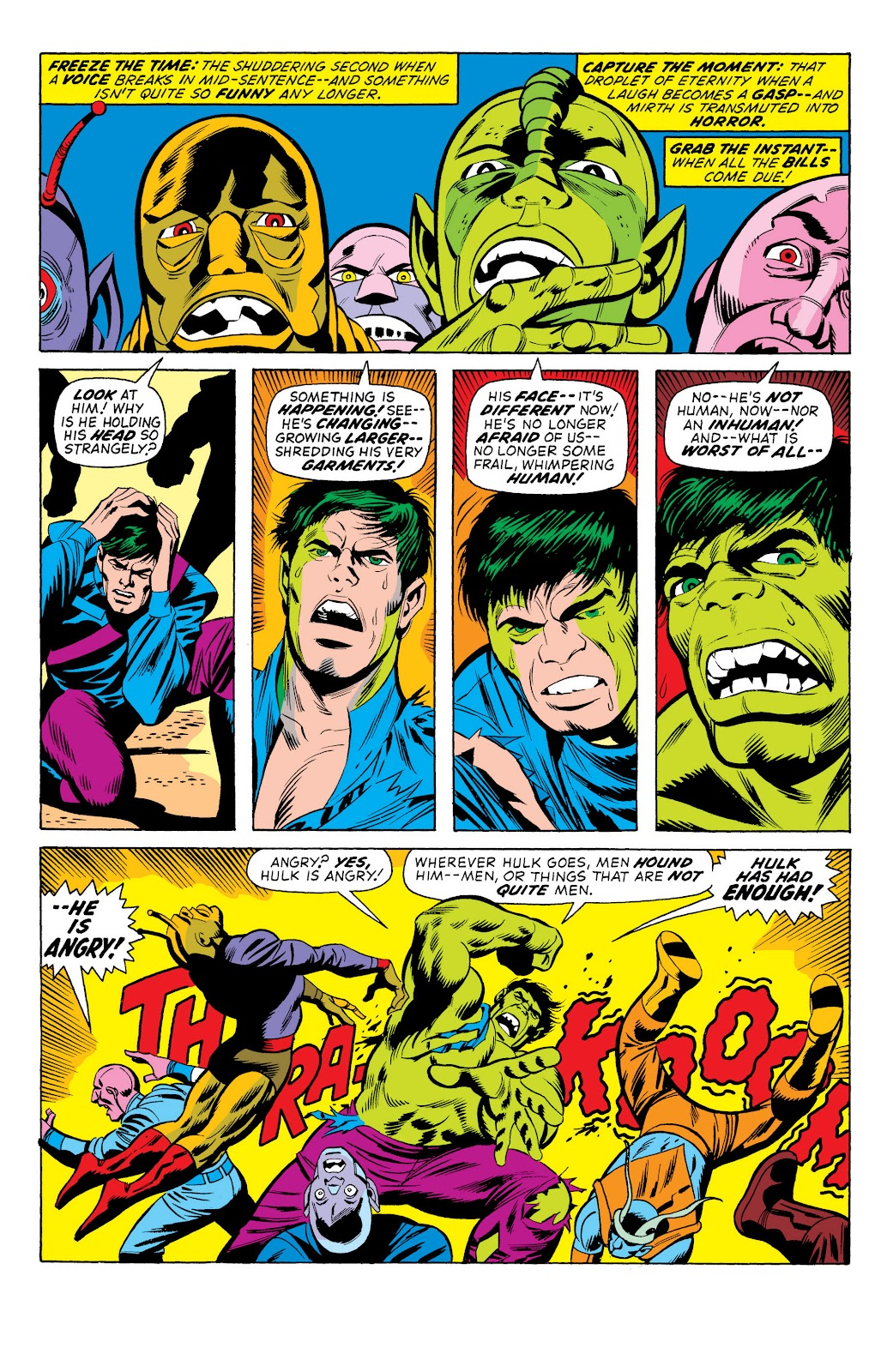 Read online Marvel Masterworks: The Incredible Hulk comic -  Issue # TPB 10 (Part 1) - 98