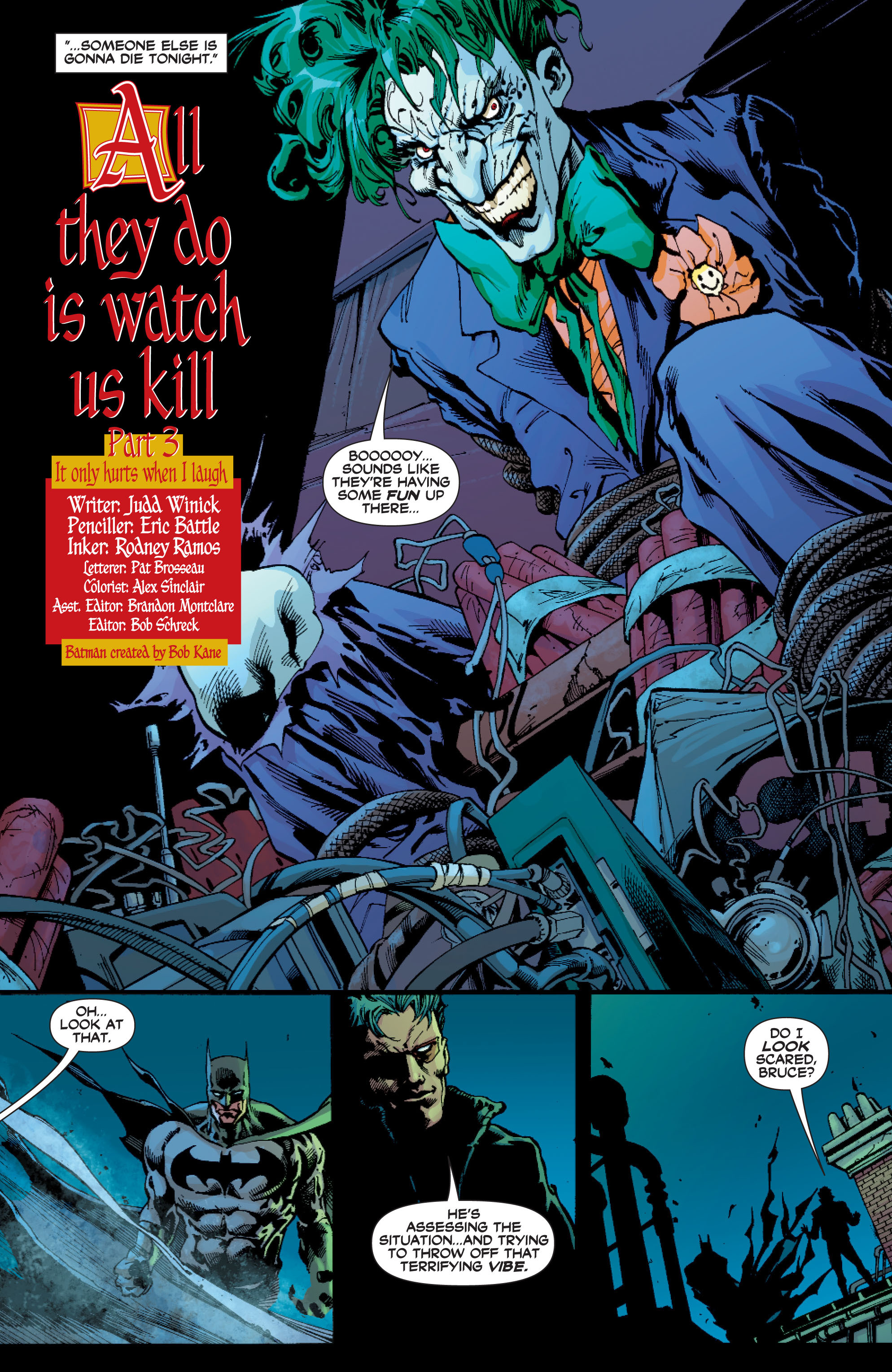 Read online Batman: Under The Red Hood comic -  Issue # Full - 297