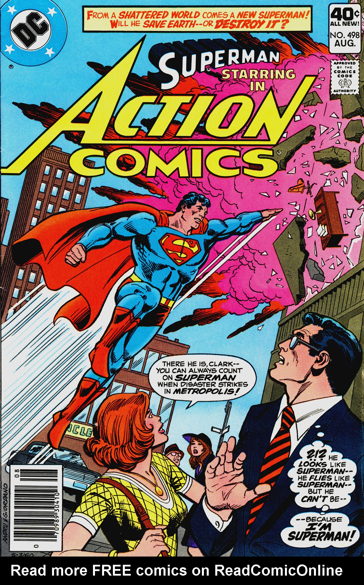 Read online Action Comics (1938) comic -  Issue #498 - 1