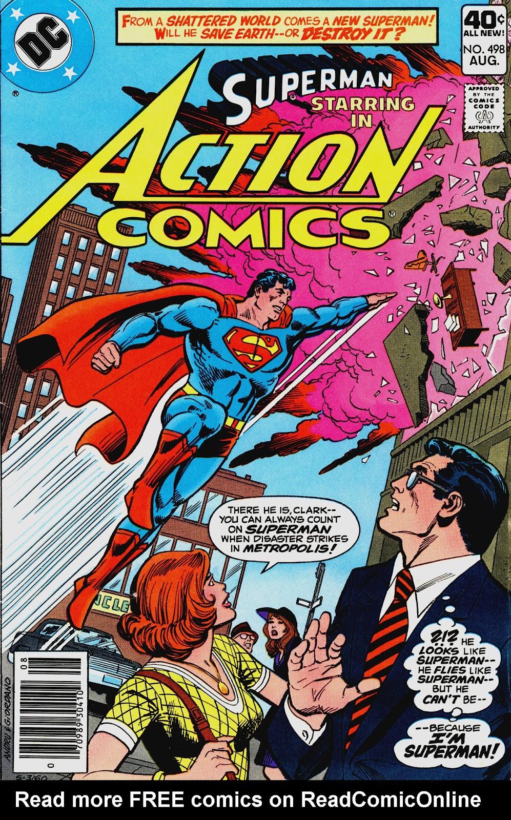 Action Comics (1938) 498 Page 1