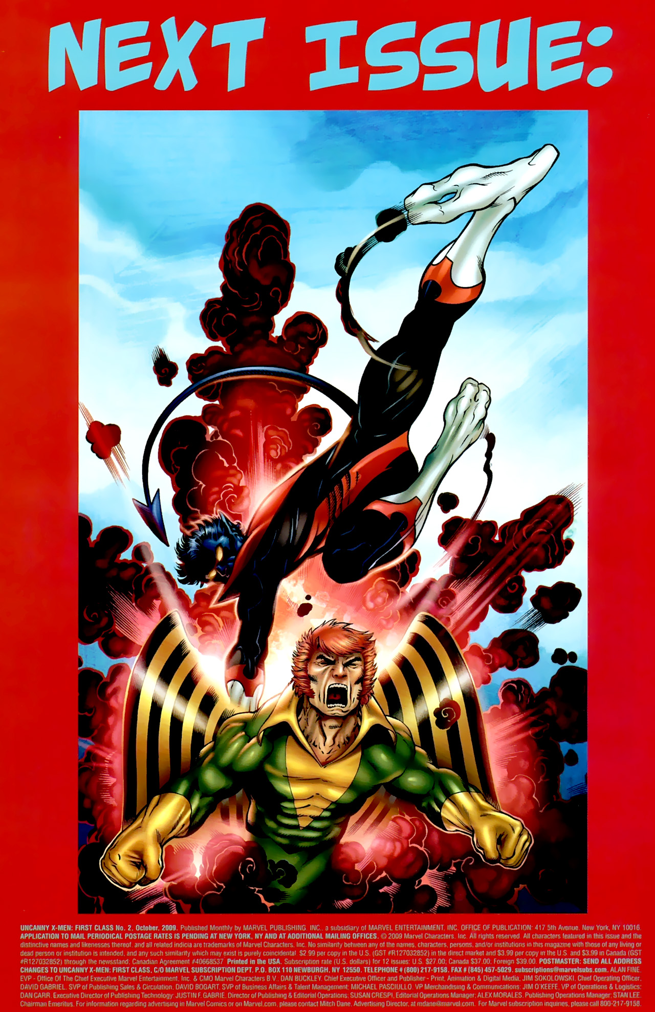 Read online Uncanny X-Men: First Class comic -  Issue #2 - 24