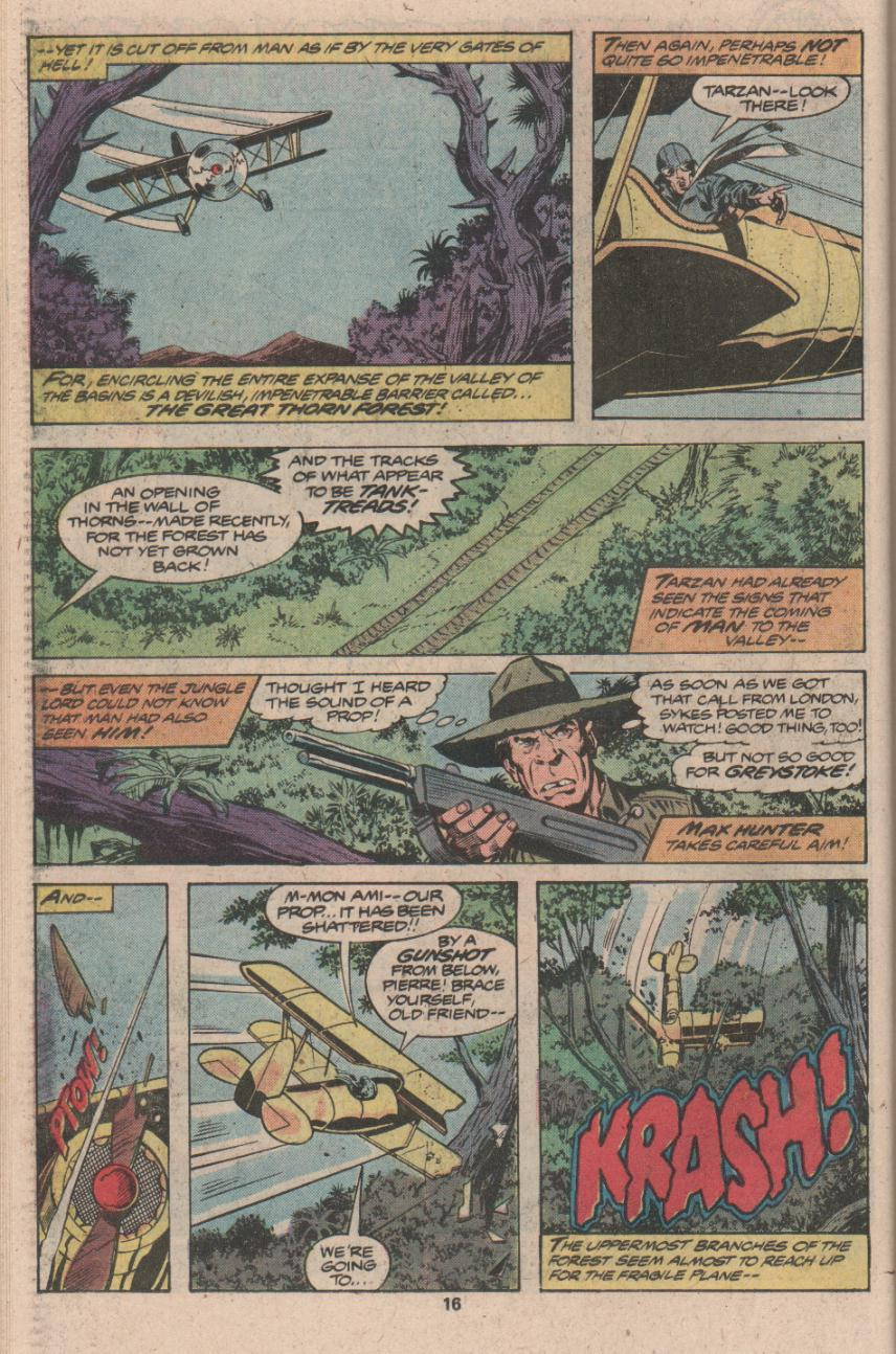 Read online Tarzan (1977) comic -  Issue # _Annual 3 - 13