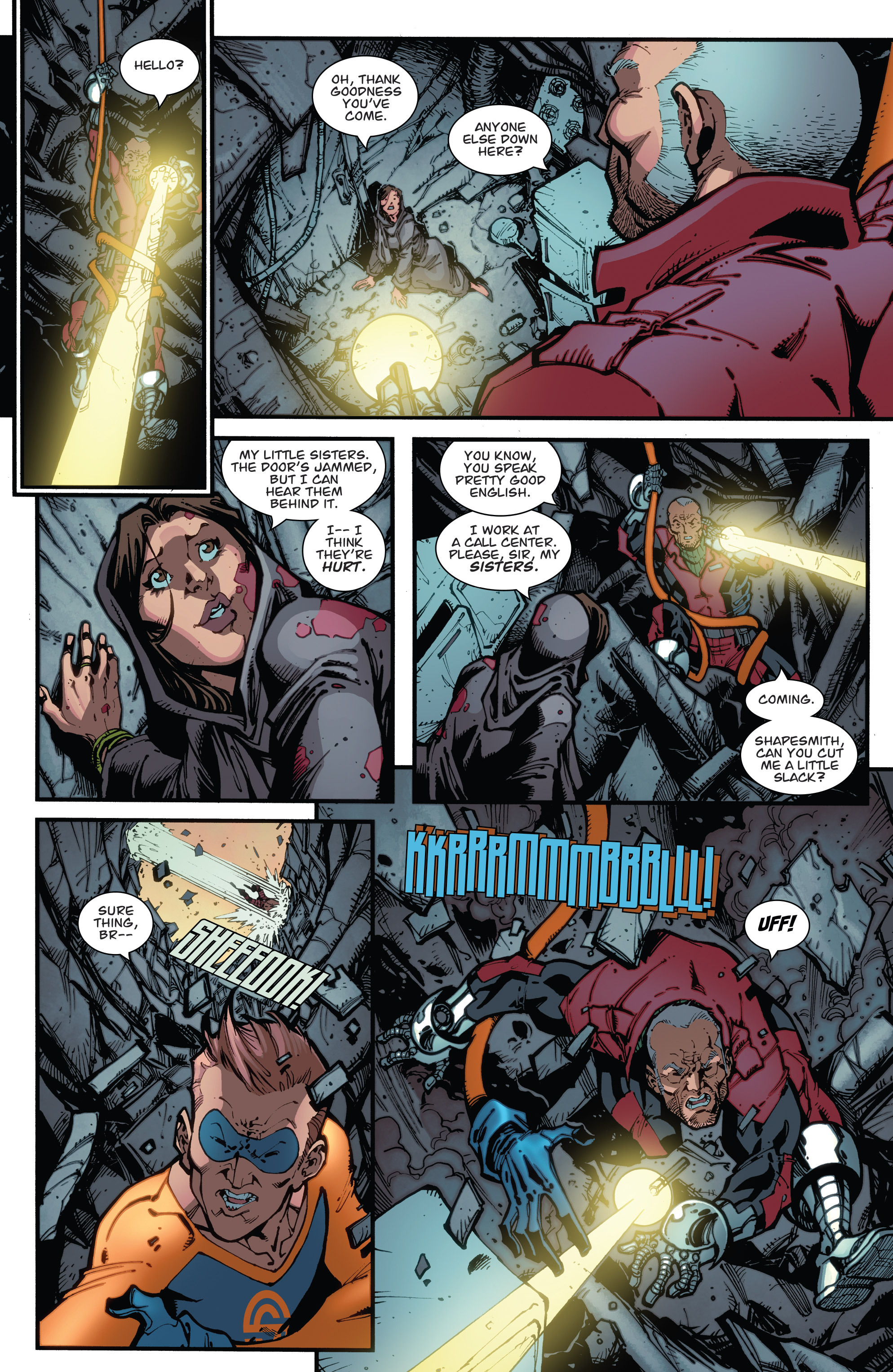 Read online Guarding the Globe (2012) comic -  Issue #6 - 6