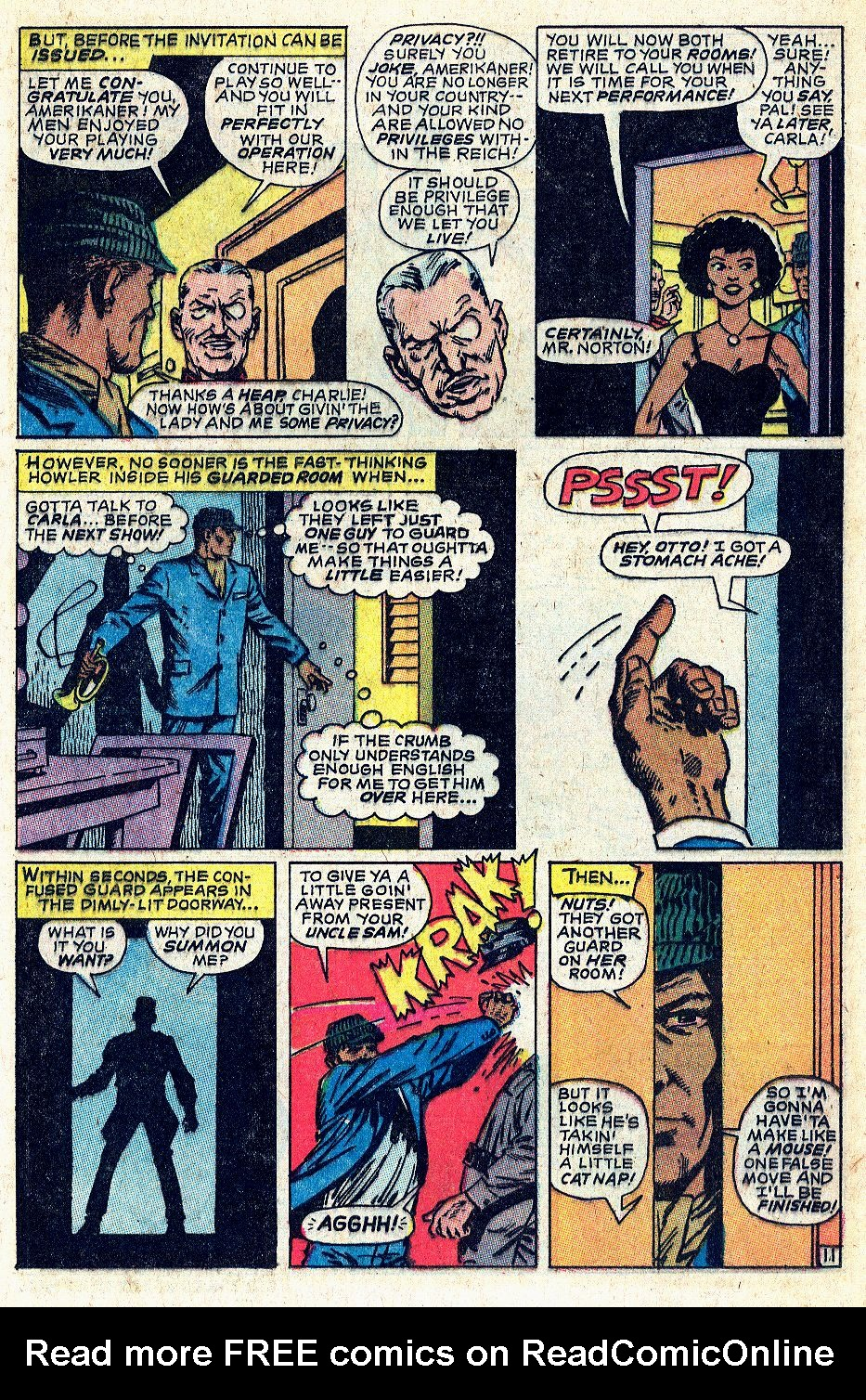 Read online Sgt. Fury comic -  Issue #56 - 17