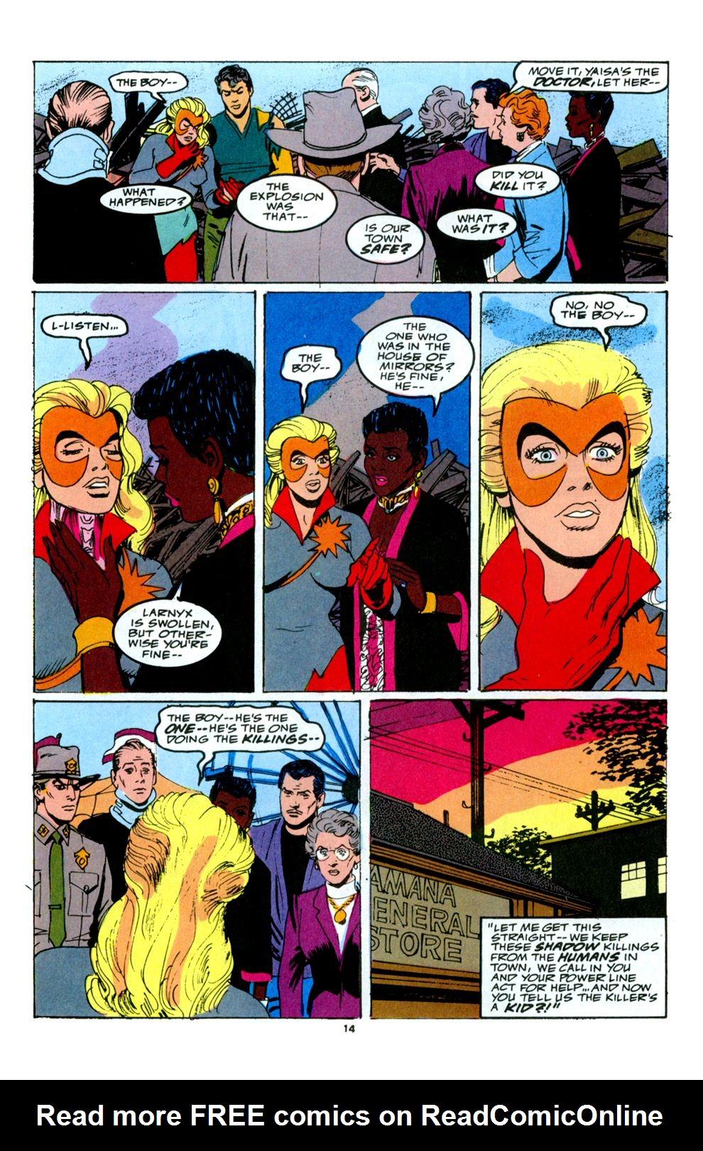Read online Powerline comic -  Issue #6 - 16