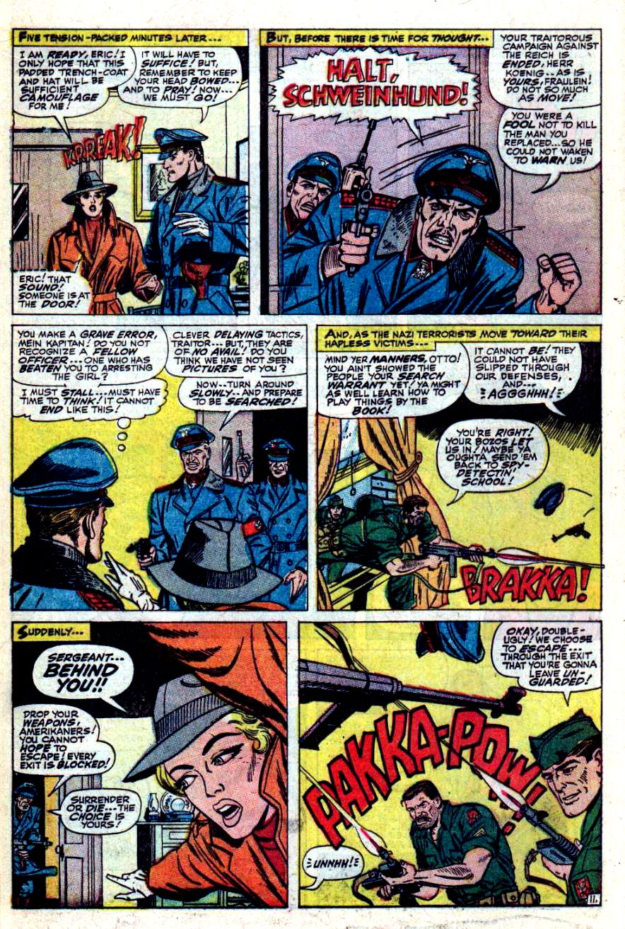 Read online Sgt. Fury comic -  Issue #42 - 16