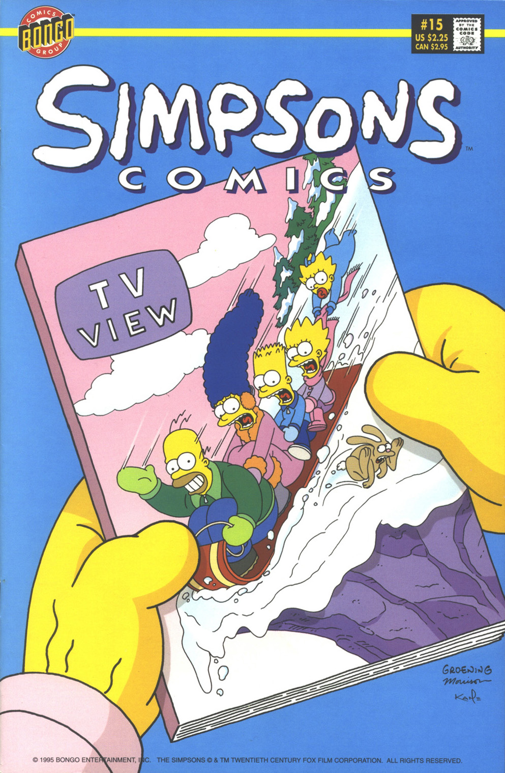 Read online Simpsons Comics comic -  Issue #15 - 1