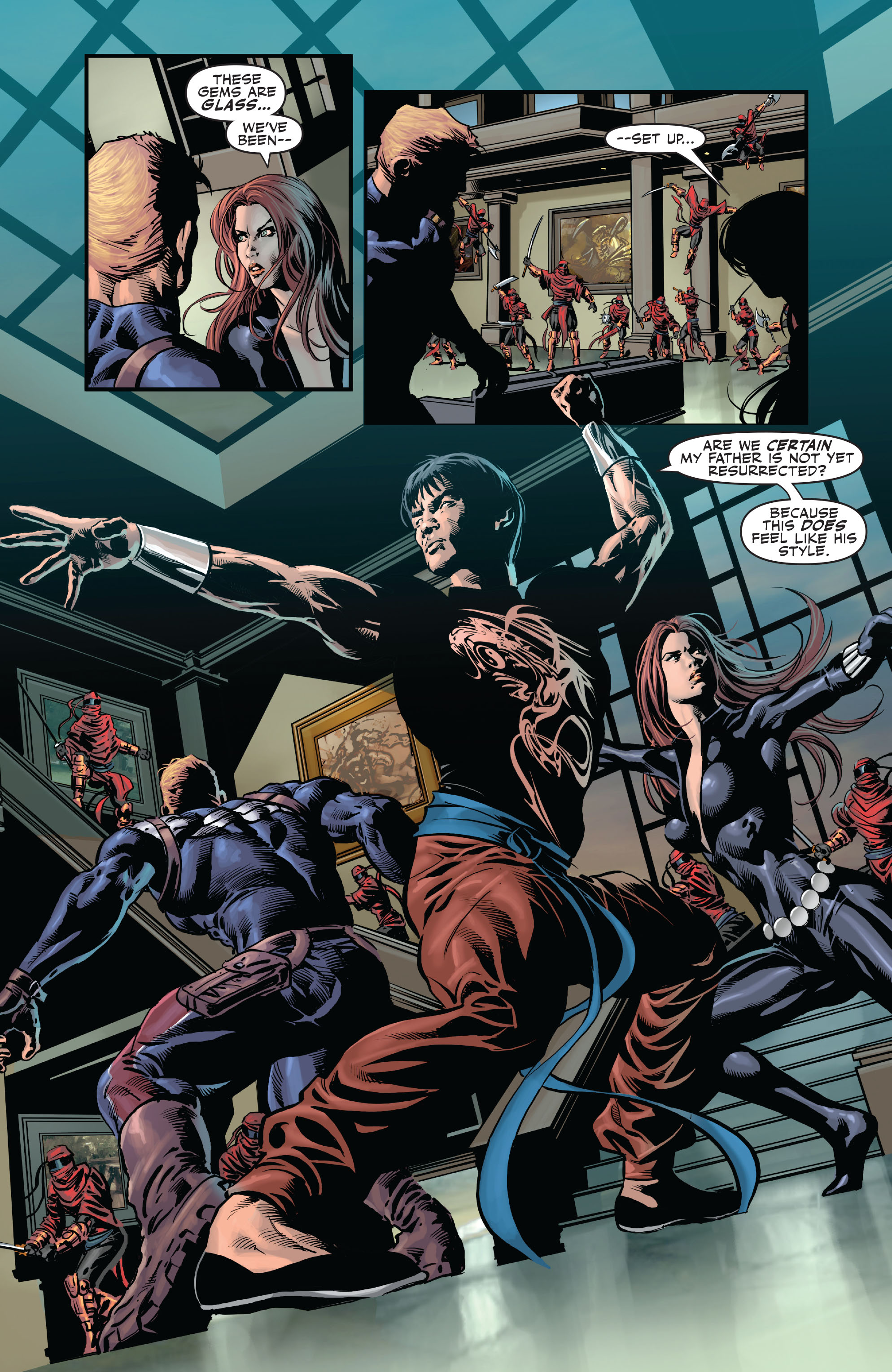 Read online Secret Avengers (2010) comic -  Issue #6 - 21