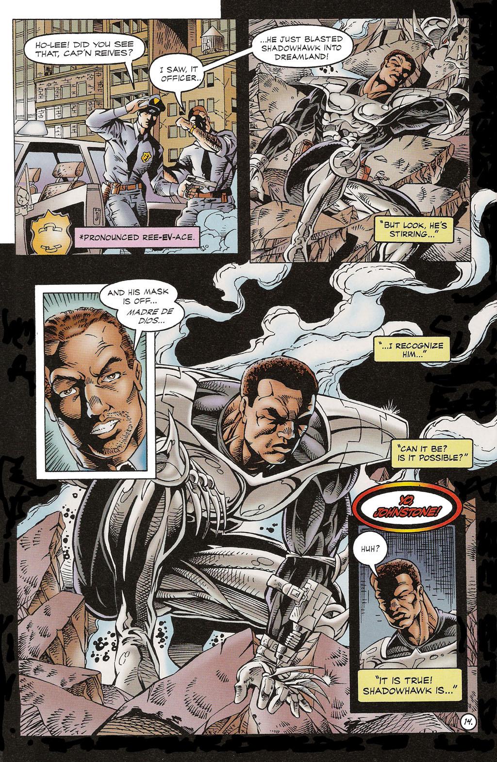 Read online ShadowHawk comic -  Issue #16 - 11