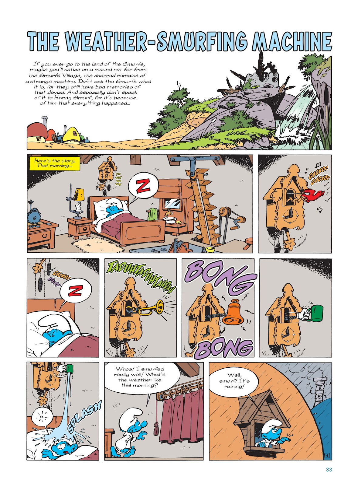 Read online The Smurfs comic -  Issue #14 - 34