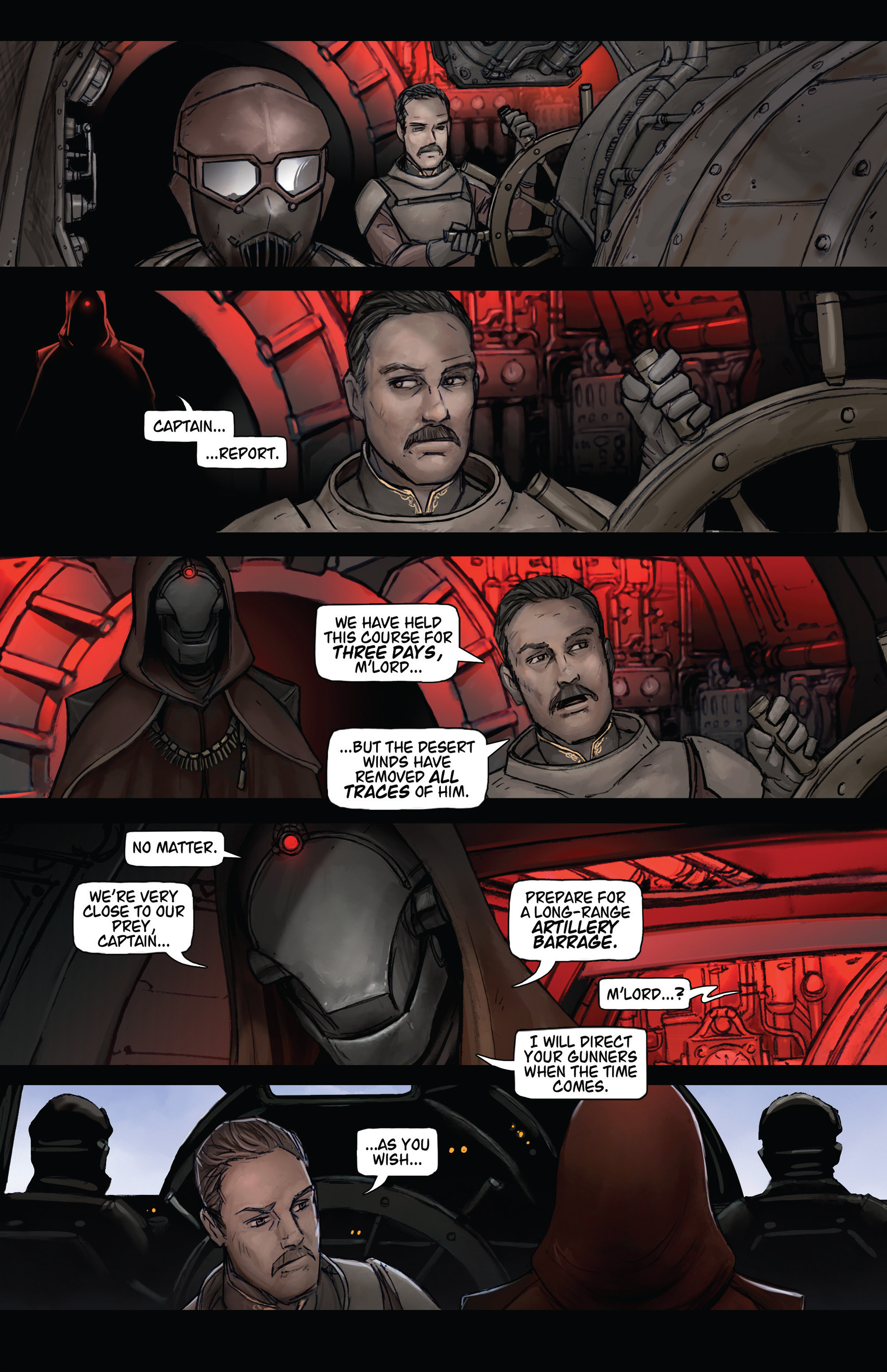 Read online Steam Wars: First Empire comic -  Issue #3 - 10