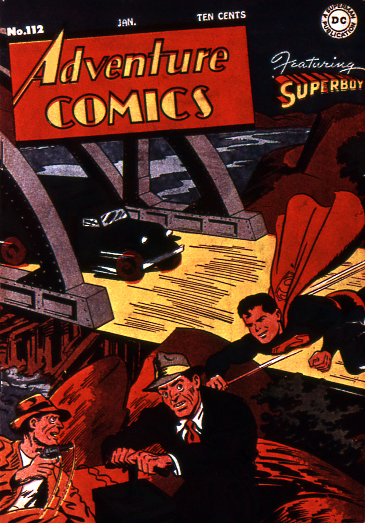Read online Adventure Comics (1938) comic -  Issue #112 - 1