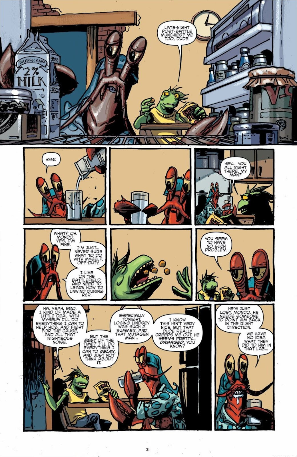 Read online Teenage Mutant Ninja Turtles: The IDW Collection comic -  Issue # TPB 6 (Part 1) - 30