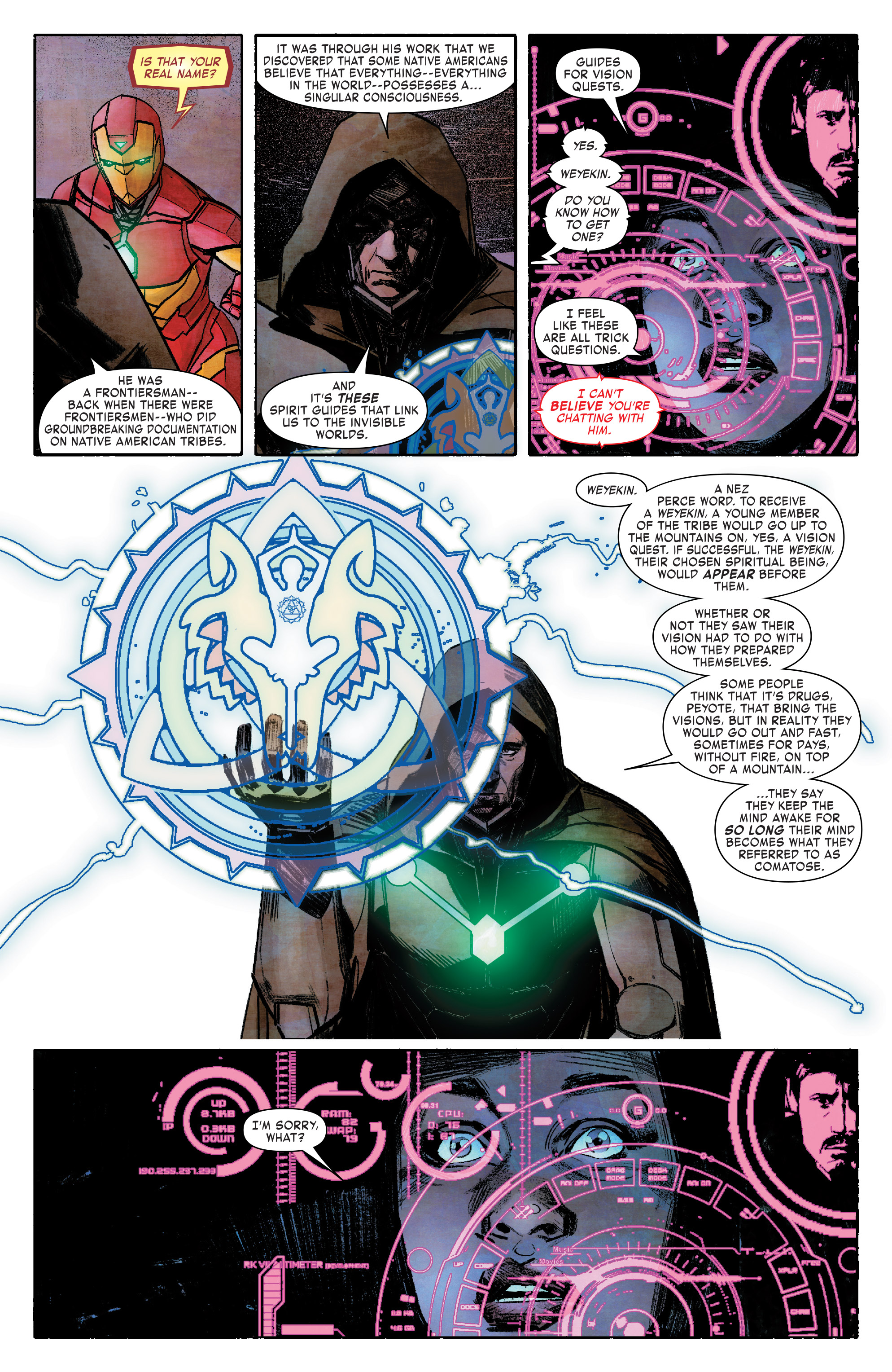 Read online Infamous Iron Man comic -  Issue #8 - 13
