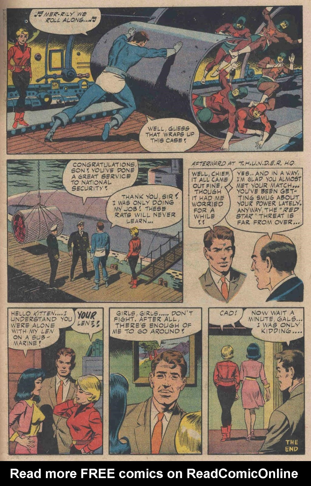 T.H.U.N.D.E.R. Agents (1965) issue 6 - Page 17