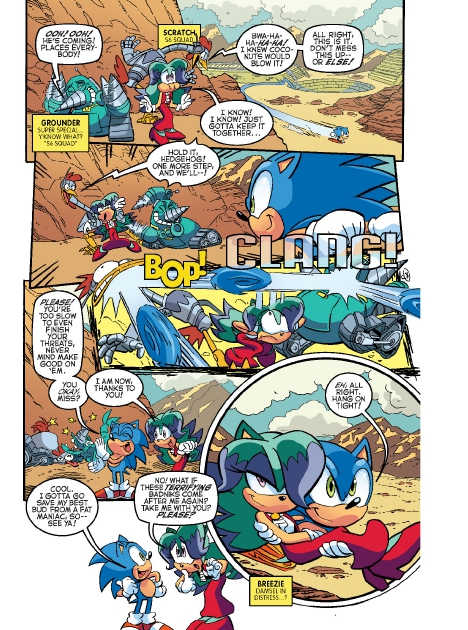 Read online Sonic Comics Spectacular: Speed of Sound comic -  Issue # Full - 258