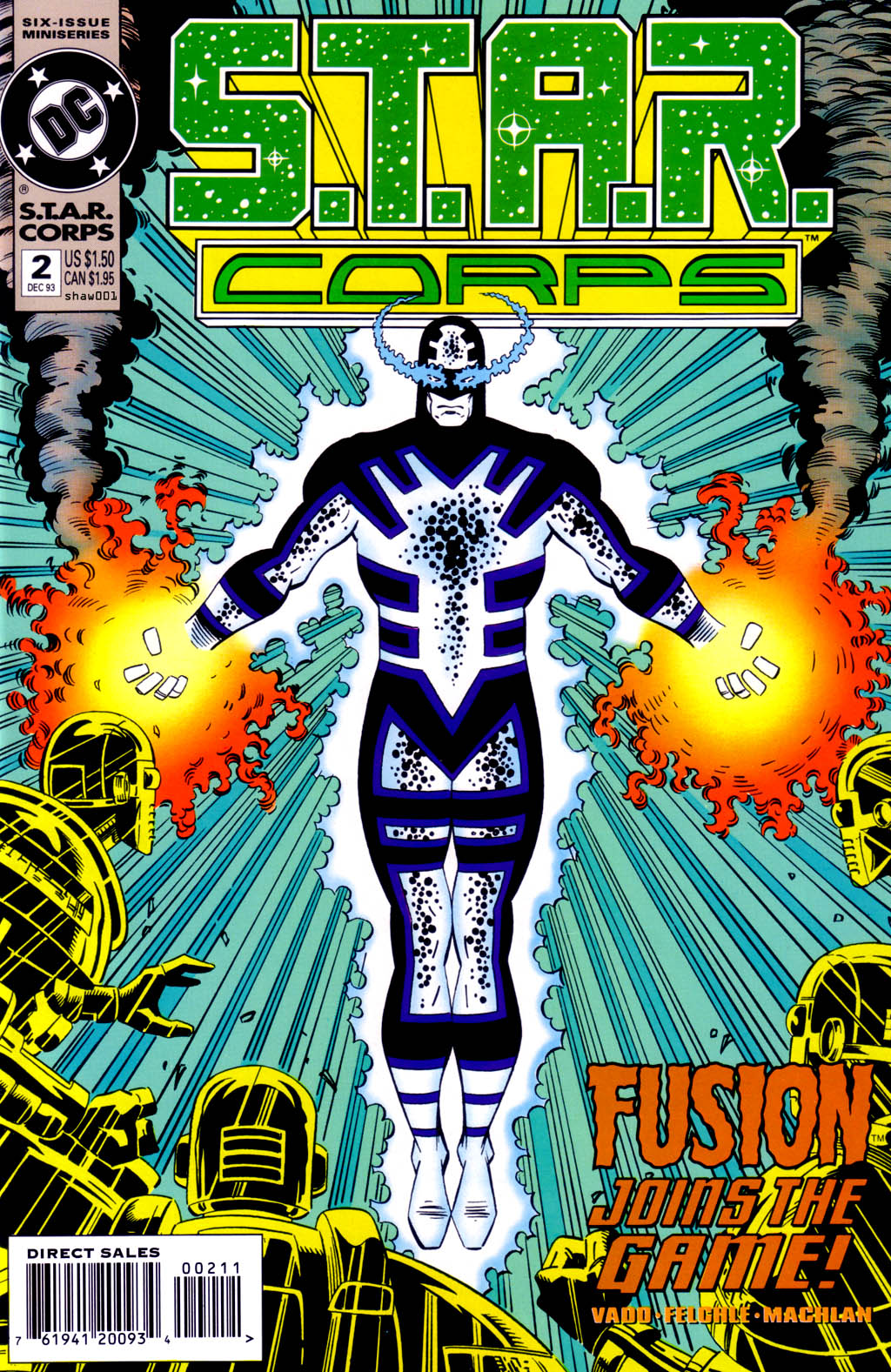 Read online S.T.A.R. Corps comic -  Issue #2 - 1