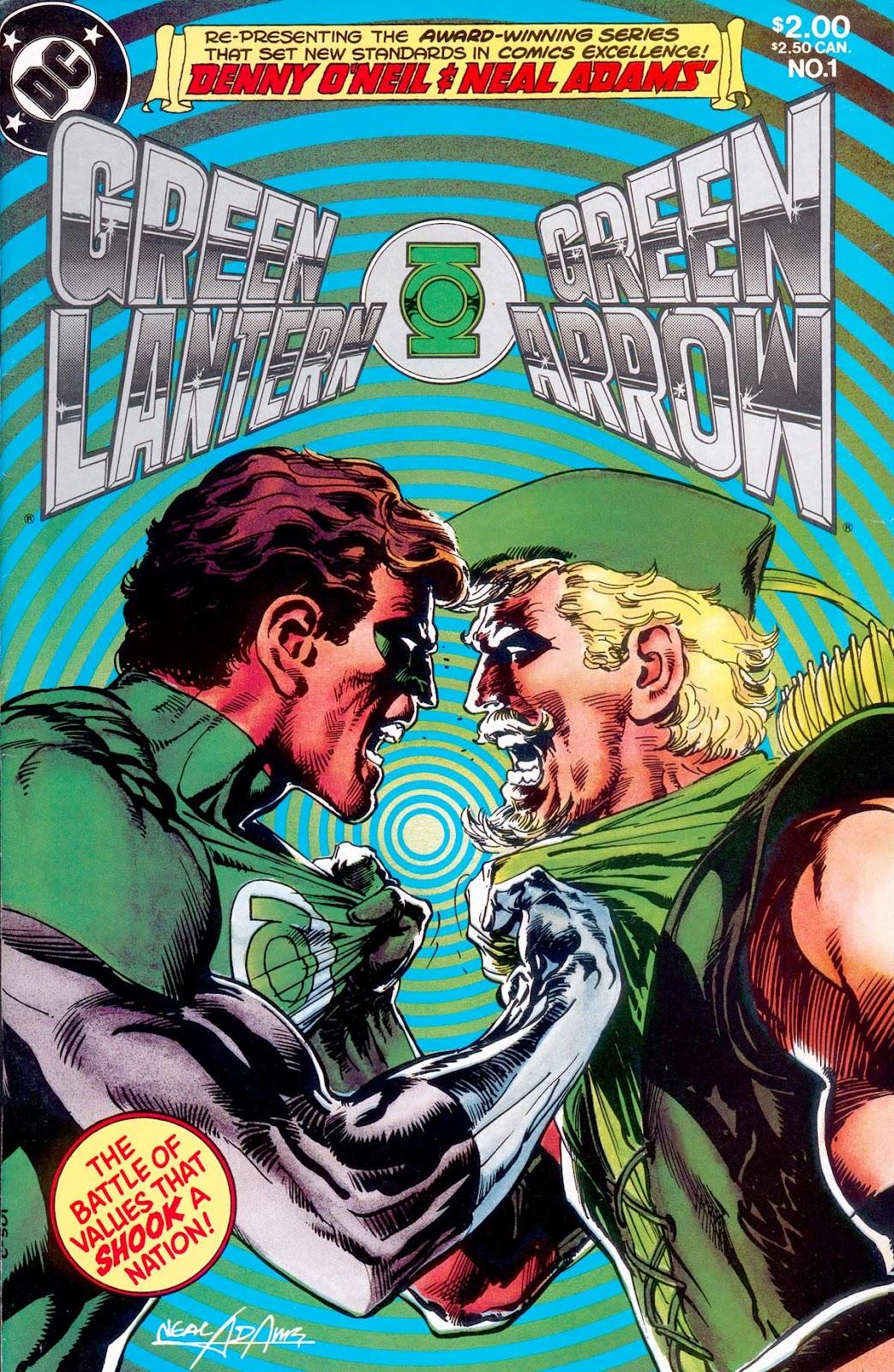 Green Lantern/Green Arrow 1 Page 1