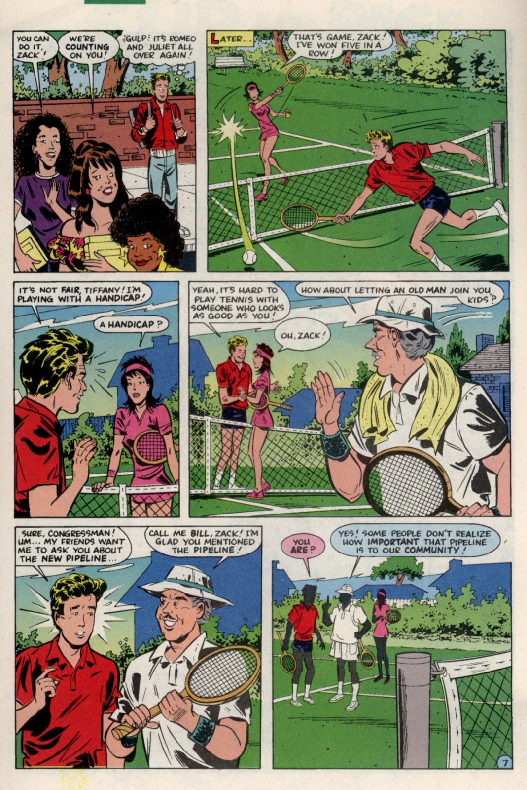Read online Saved By The Bell comic -  Issue #4 - 12